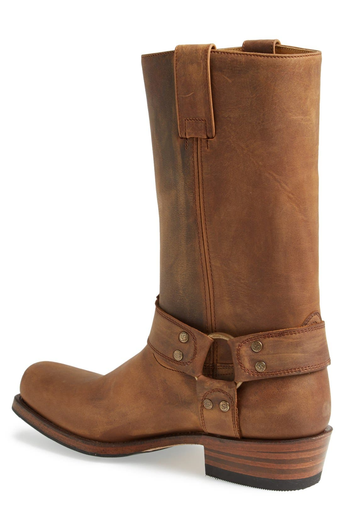 Boots Tall Harness Boot,                             Alternate thumbnail 6, color,                             TAN