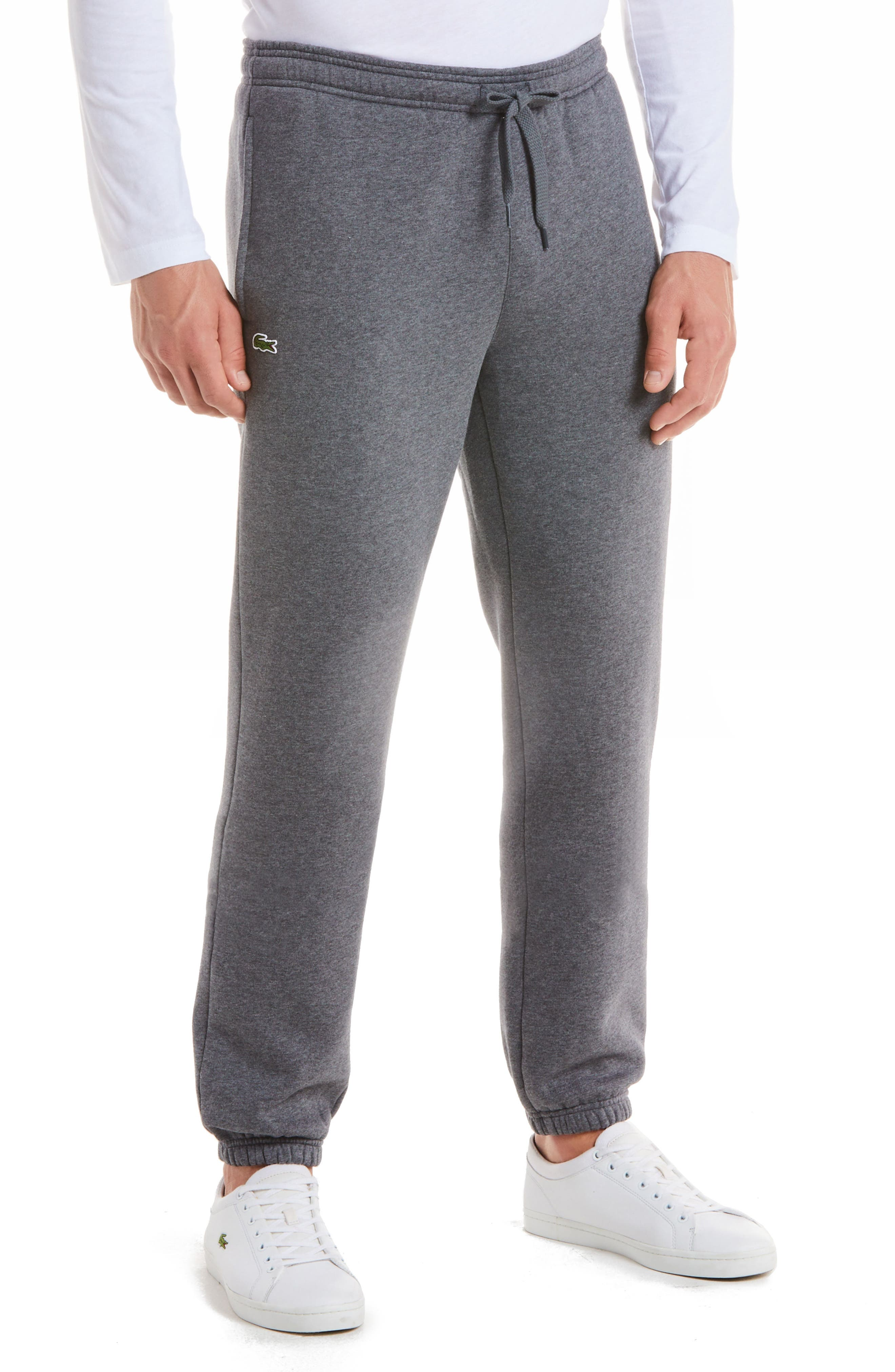 'Sport' Tapered Sweatpants,                             Main thumbnail 1, color,                             PITCH