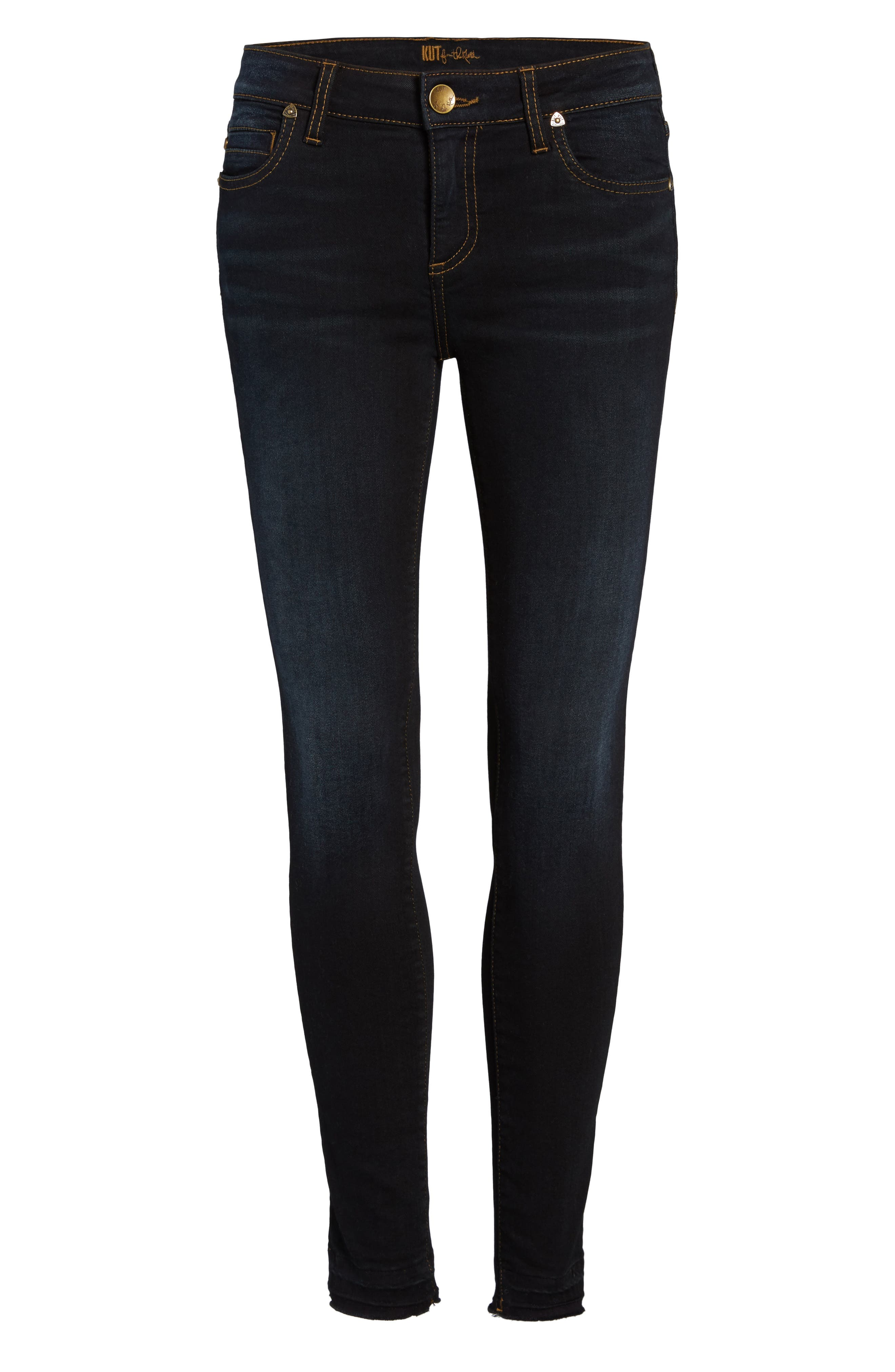 Connie Release Hem Skinny Jeans,                             Alternate thumbnail 6, color,                             476
