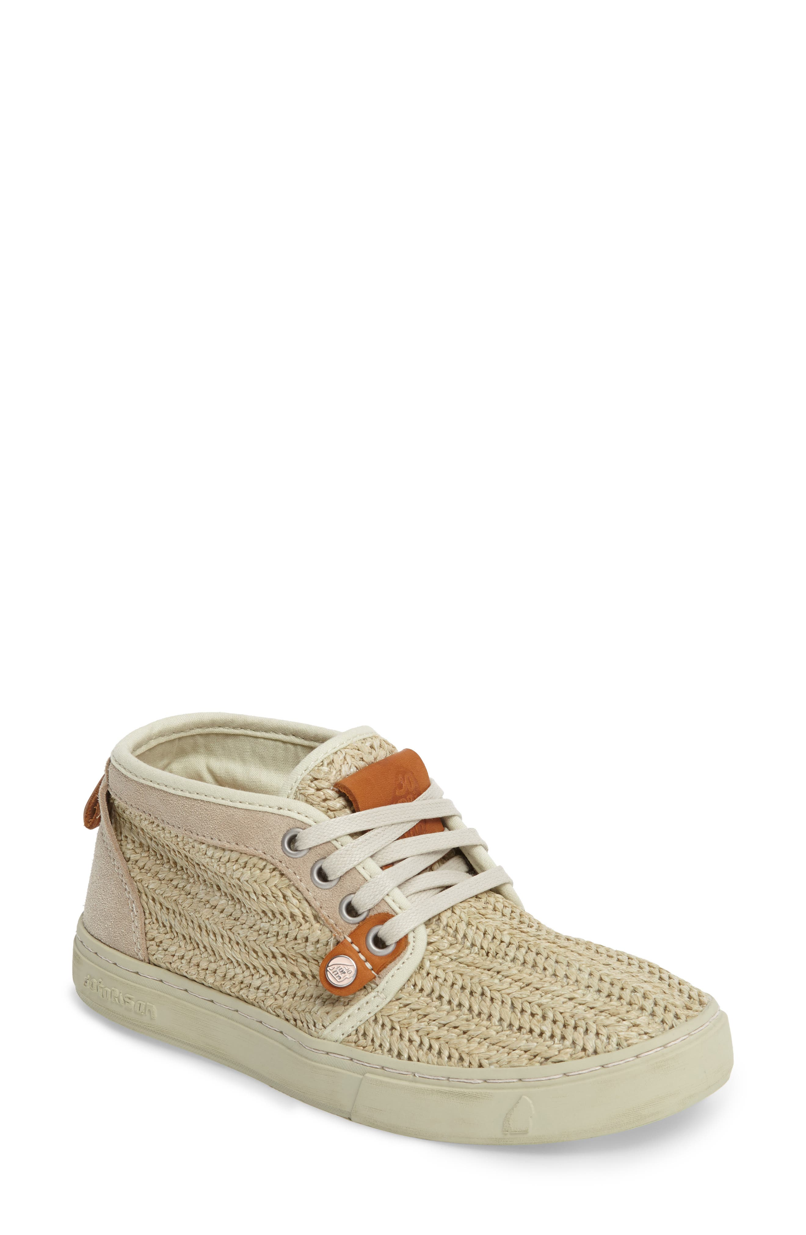 Hamoru Woven High Top Sneaker,                             Main thumbnail 1, color,                             YESO FABRIC