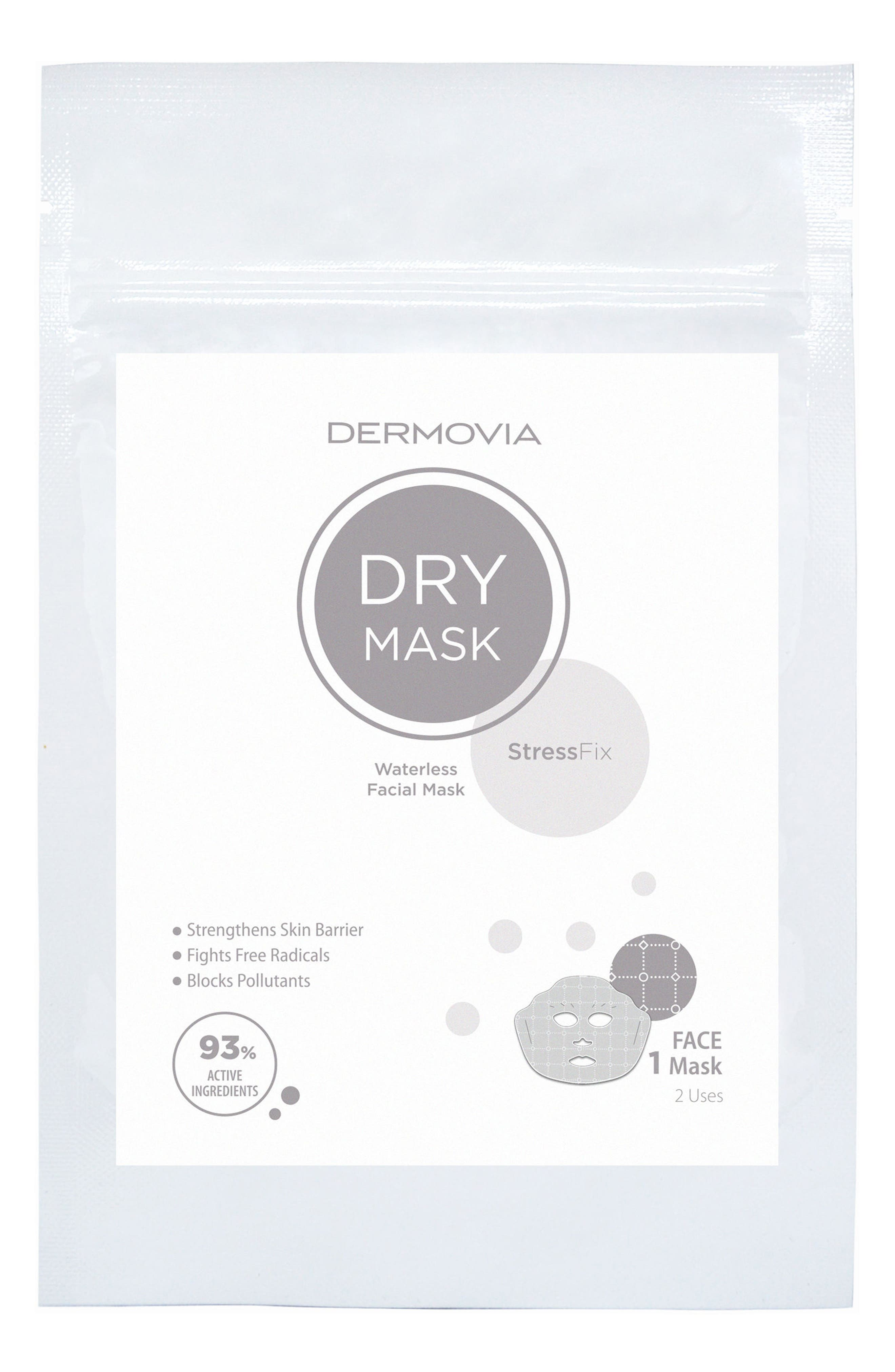 DRY Mask StressFix Waterless Facial Mask,                             Main thumbnail 1, color,                             NO COLOR