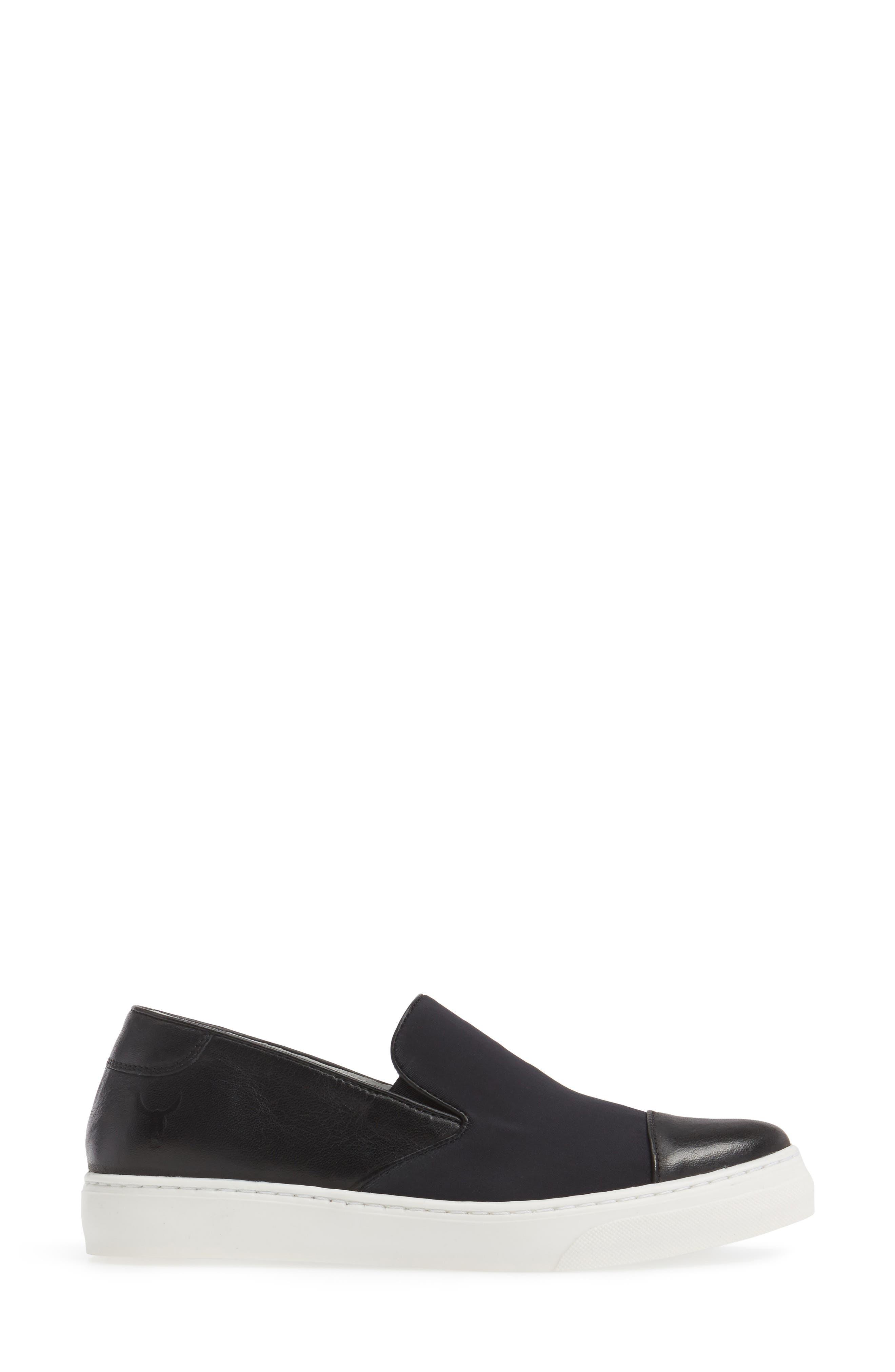 Betsy Slip-On Sneaker,                             Alternate thumbnail 3, color,                             001
