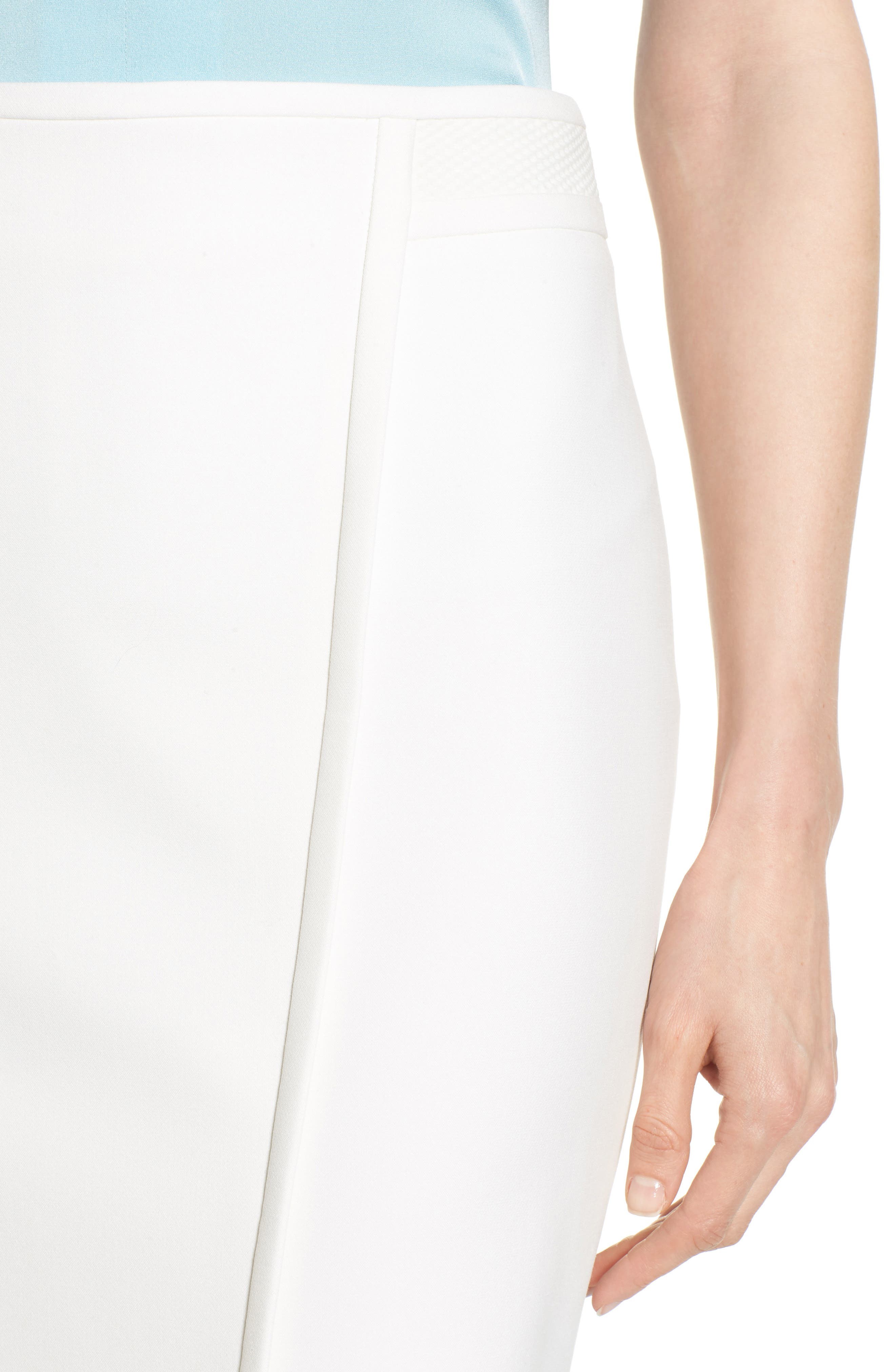 Vadama Ponte Pencil Skirt,                             Alternate thumbnail 4, color,                             112