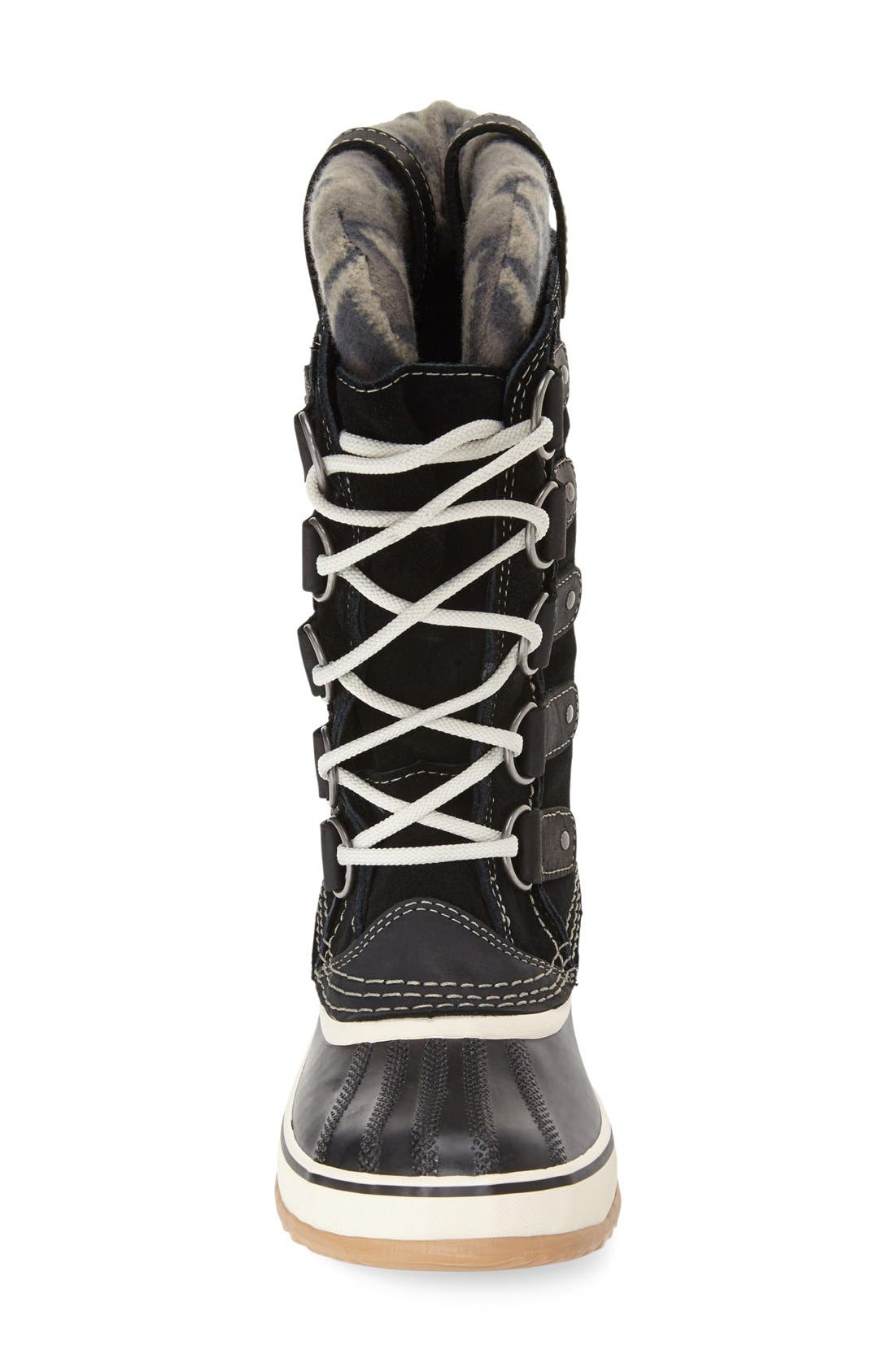 SOREL,                             'Joan of Arctic - Knit II' Waterproof Boot,                             Alternate thumbnail 2, color,                             010