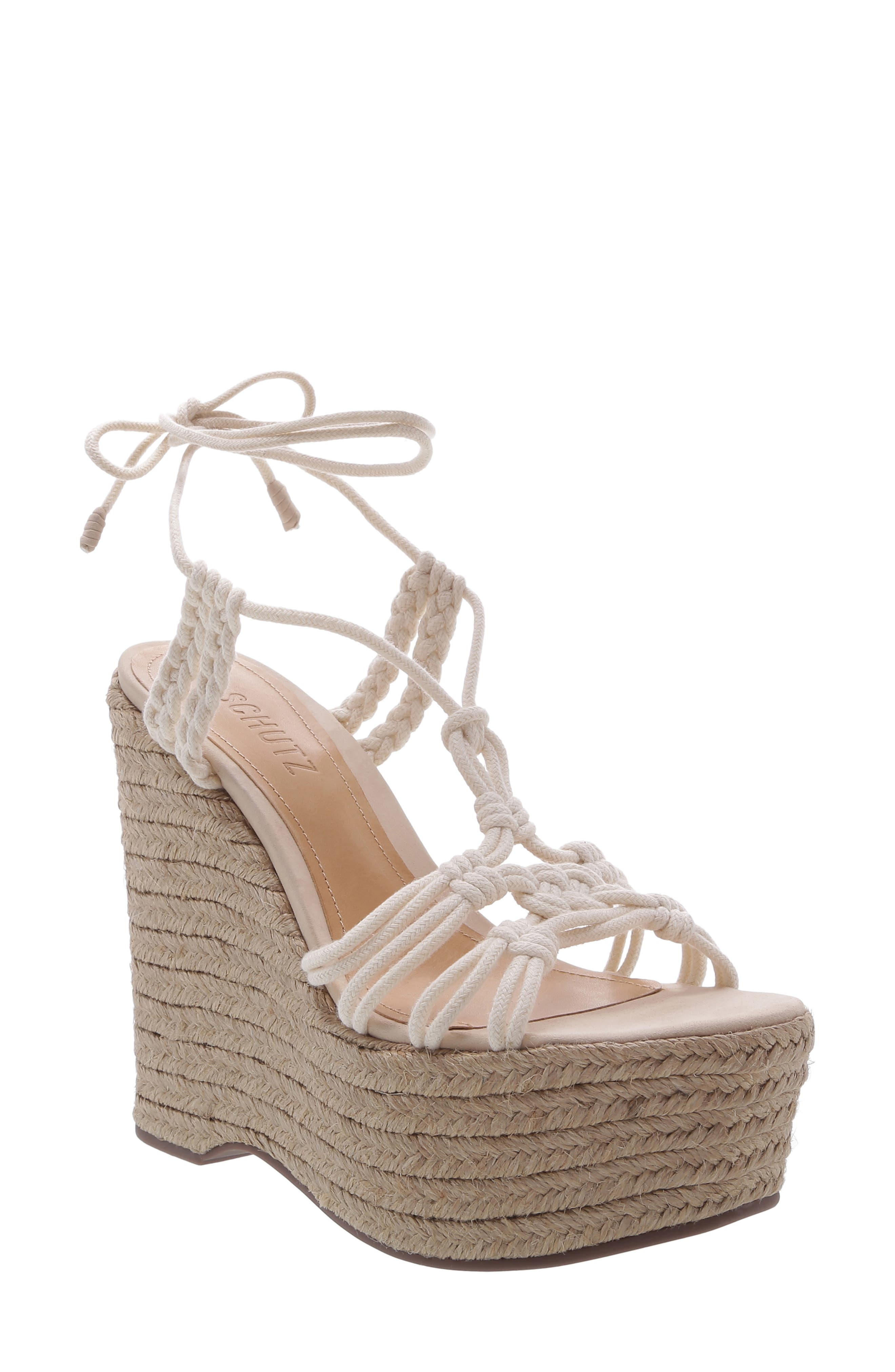Macris Platform Wedge Sandal by Schutz