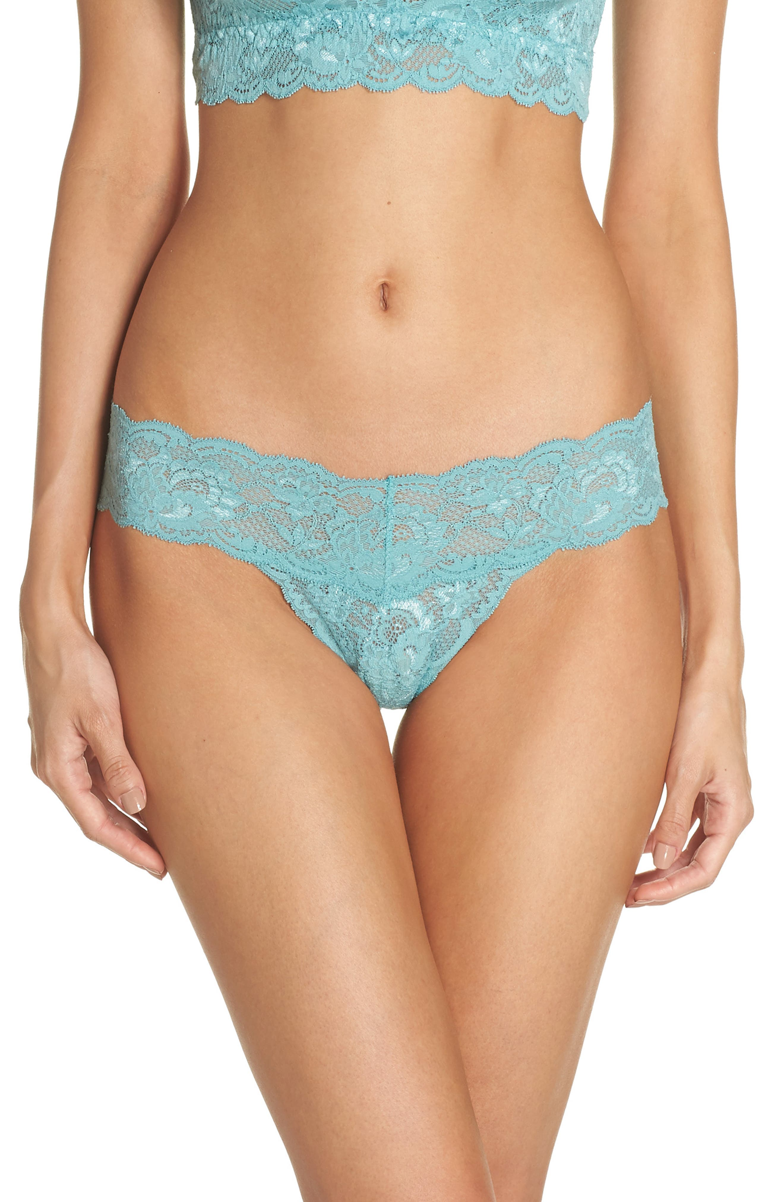 'Never Say Never Cutie' Thong,                             Alternate thumbnail 117, color,