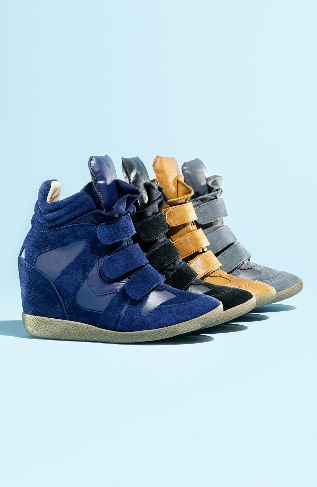 'Hilight' Wedge Sneaker, Main, color, 300