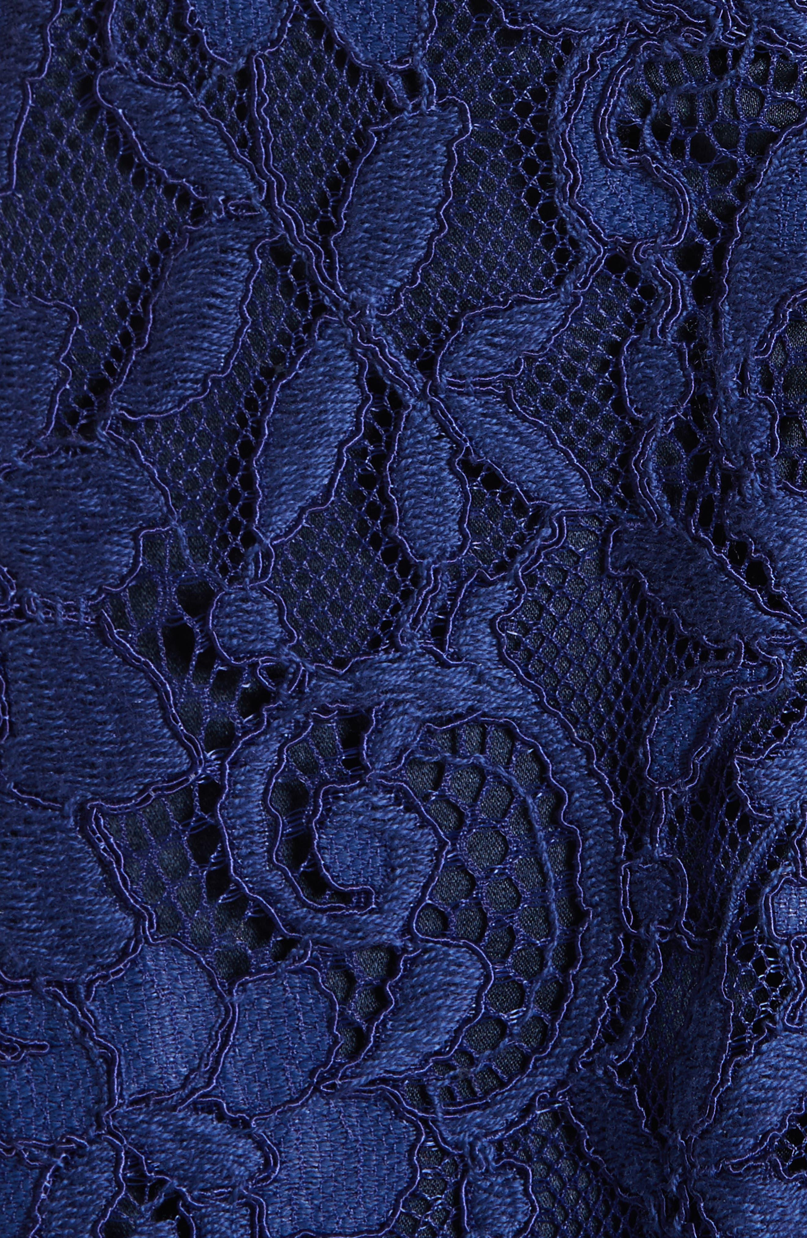 Maxine Lace Peplum Camisole,                             Alternate thumbnail 5, color,                             410