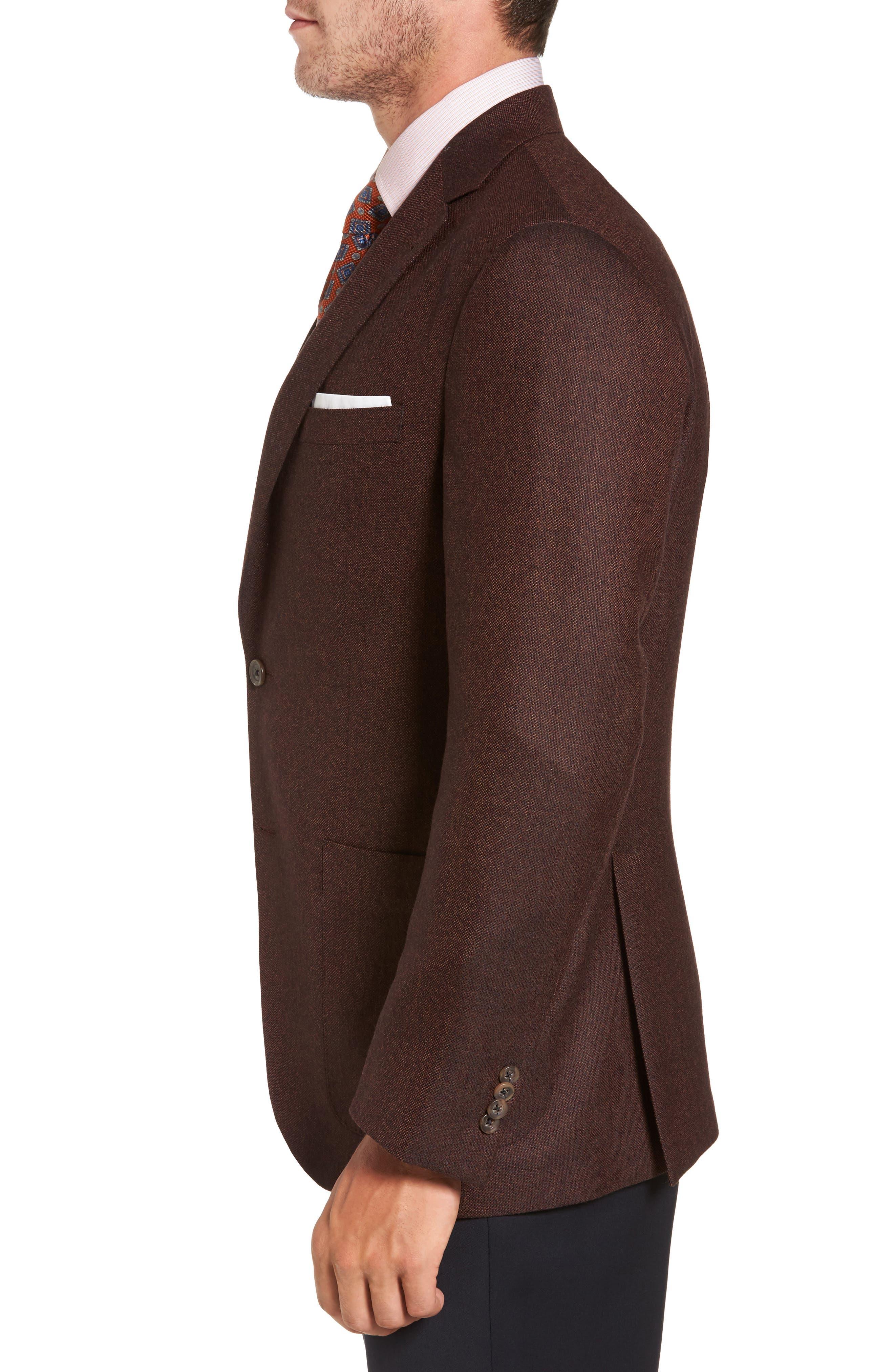 Aiden Classic Fit Wool Sport Coat,                             Alternate thumbnail 3, color,                             252