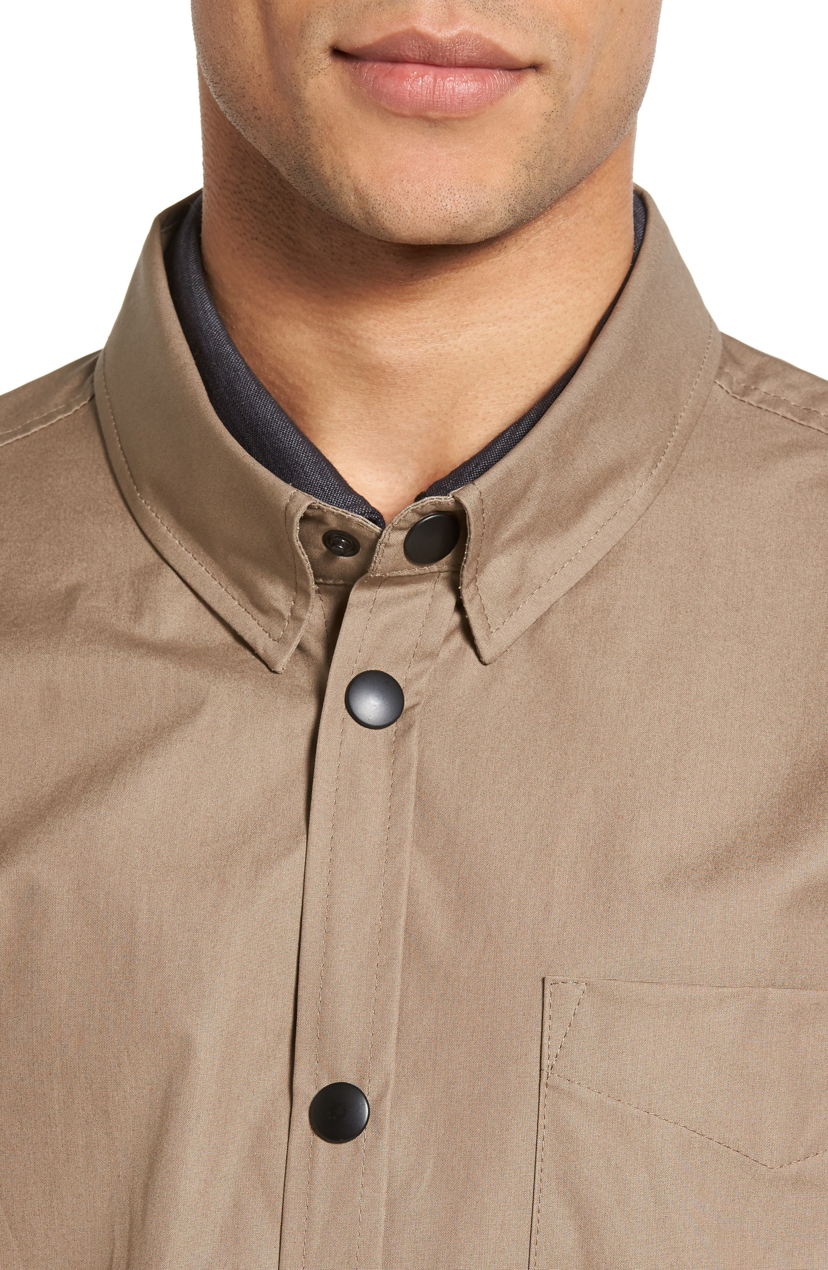 Lerum Relaxed Fit Shirt Jacket,                             Alternate thumbnail 6, color,
