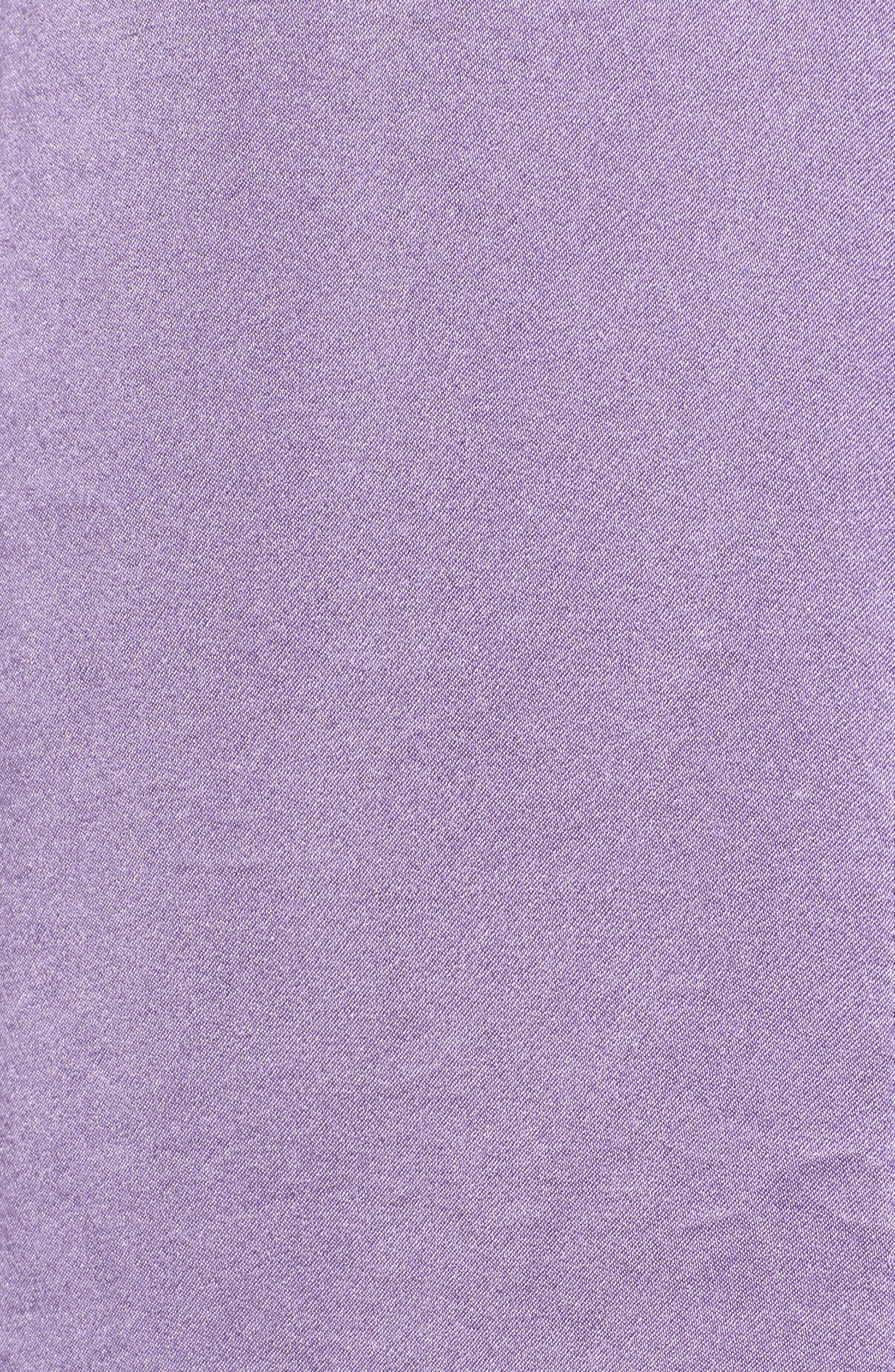Cora Silk Blouse,                             Alternate thumbnail 5, color,                             LILAC
