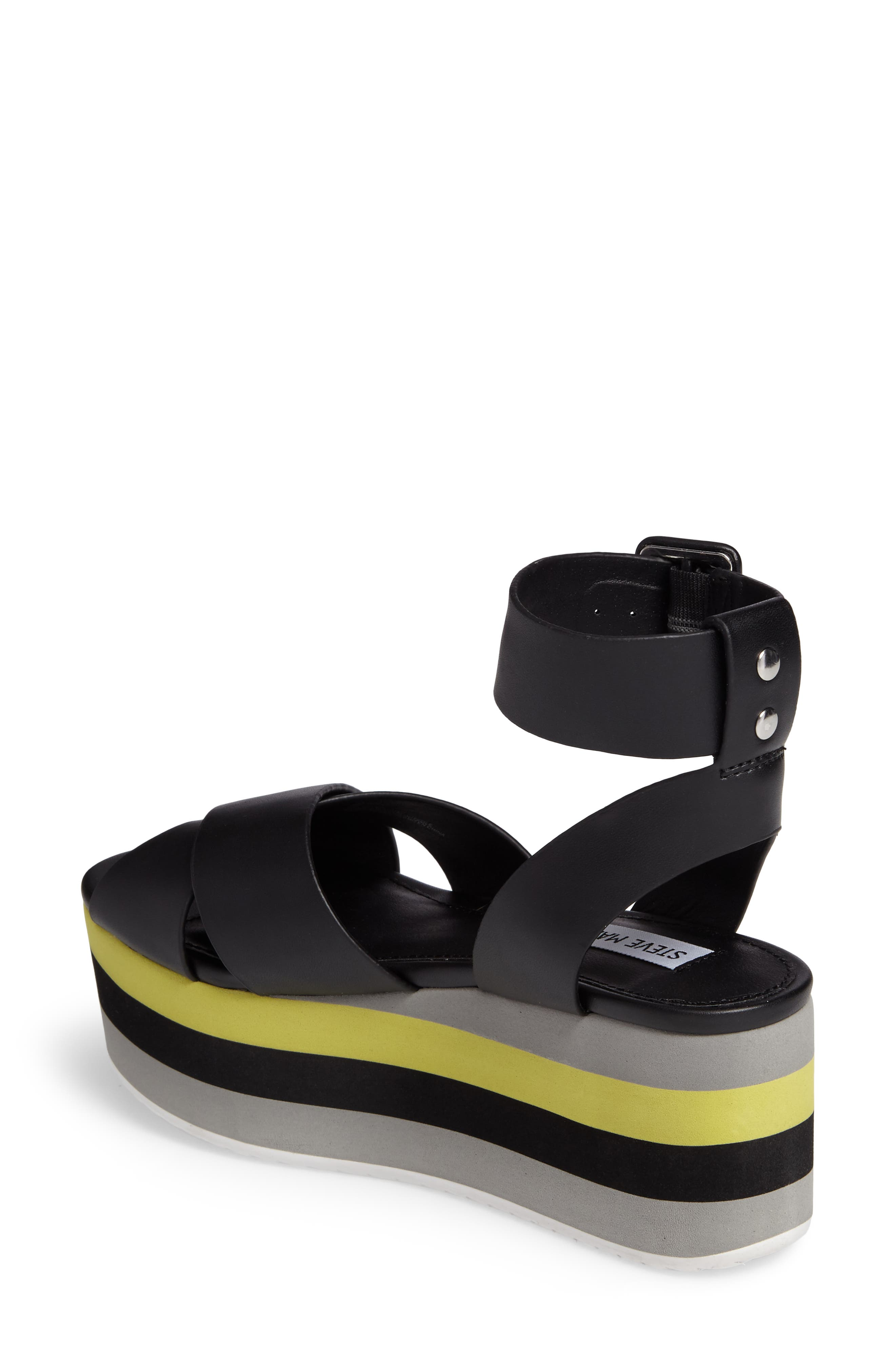 Macer Cuffed Platform Sandal,                             Alternate thumbnail 2, color,                             015