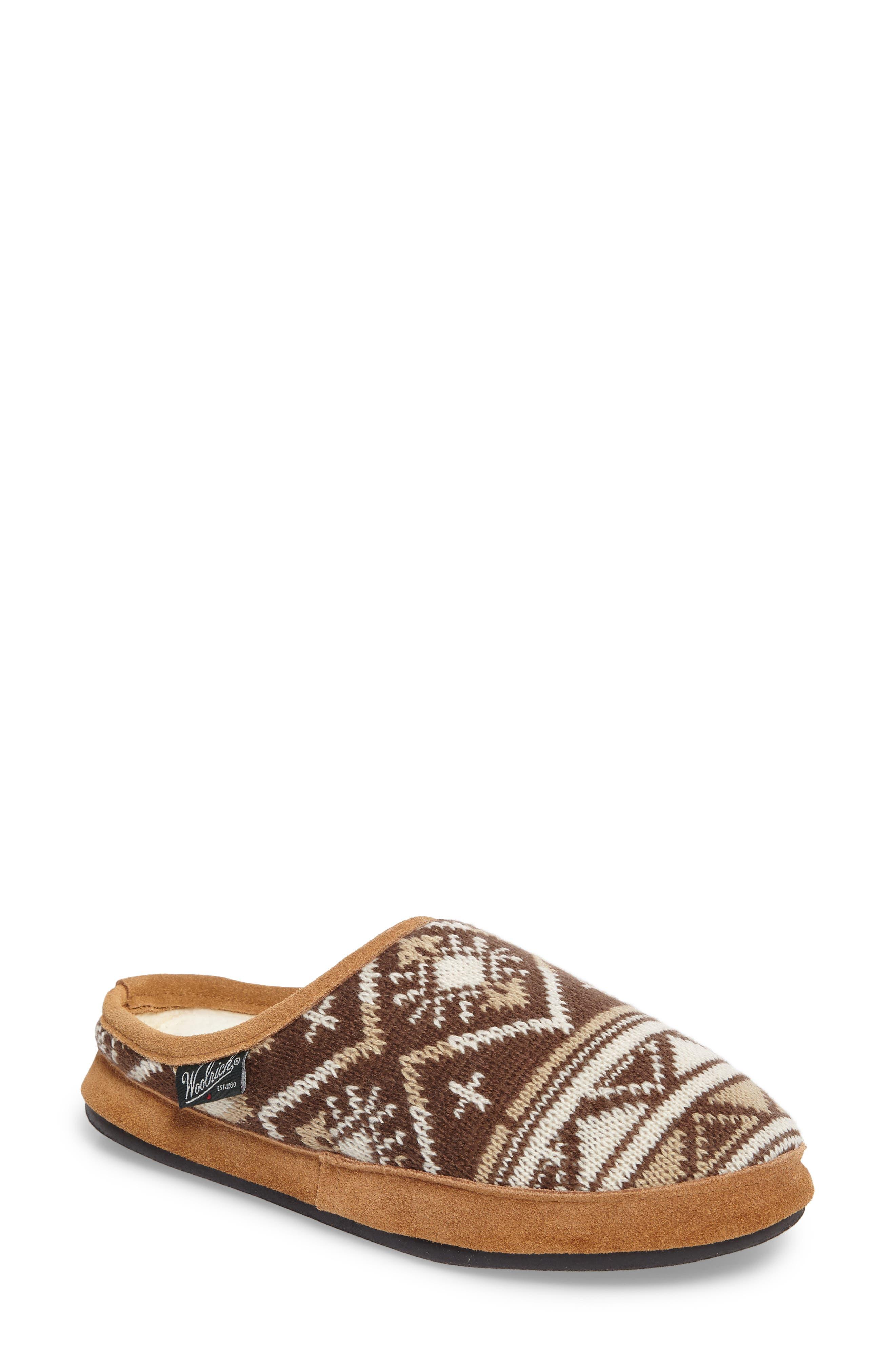 Whitecap Knit Slipper, Main, color, 235