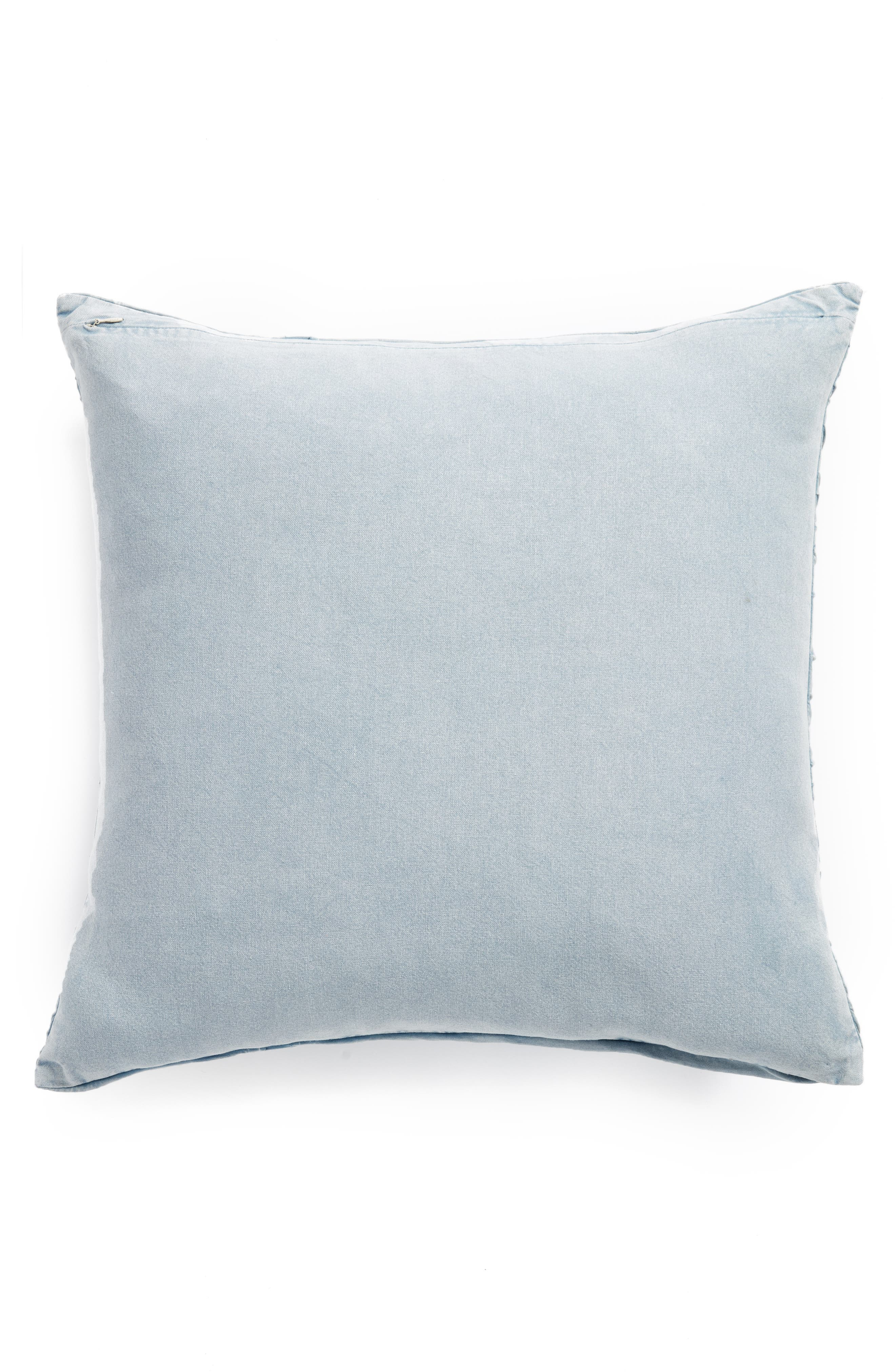 Stonewash Jersey Accent Pillow,                             Alternate thumbnail 2, color,                             400
