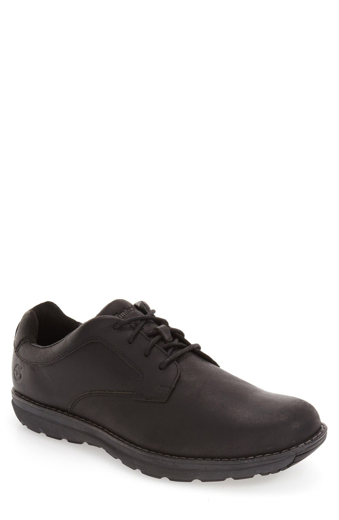 'Barrett Park' Plain Toe Derby,                         Main,                         color, 001