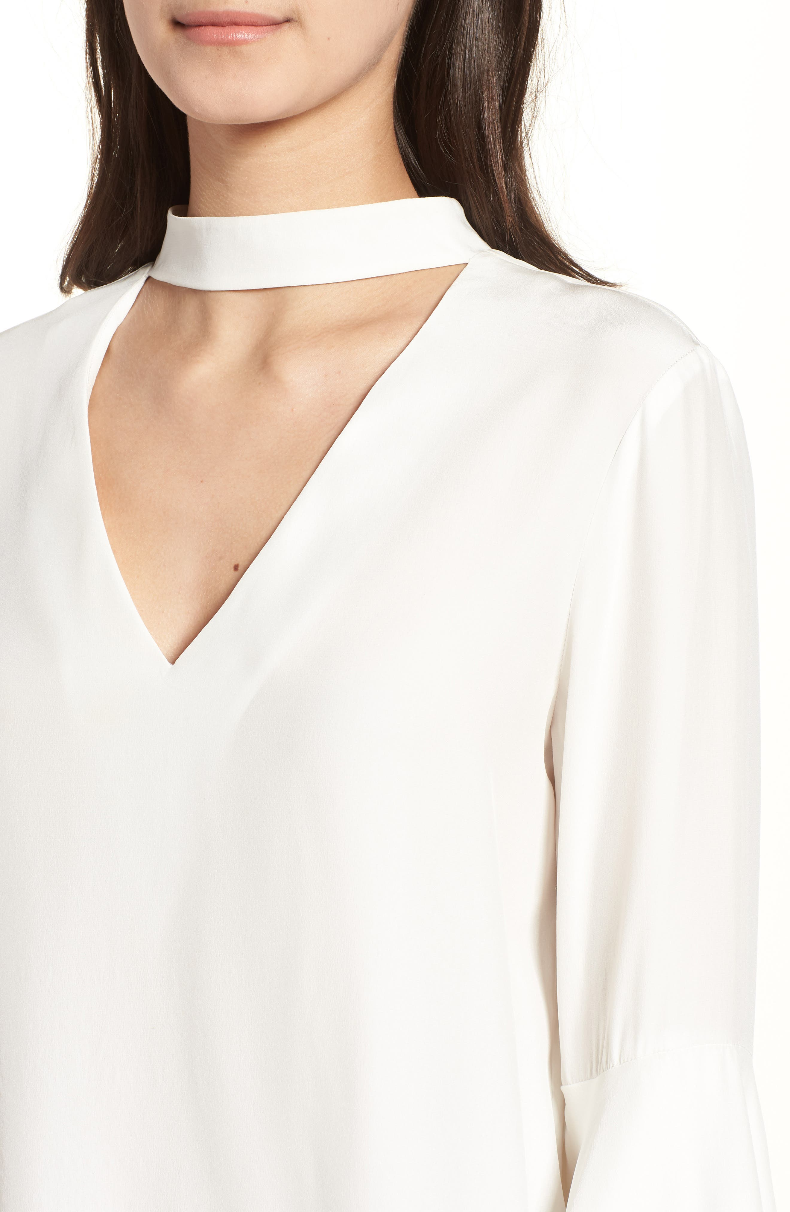 Bell Sleeve Top,                             Alternate thumbnail 4, color,                             908