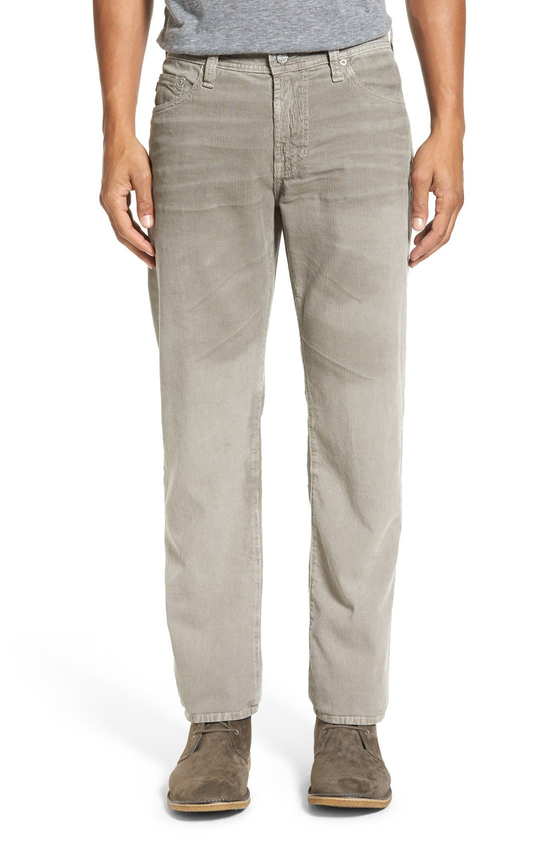 'Graduate' Tailored Straight Leg Corduroy Pants,                             Main thumbnail 11, color,