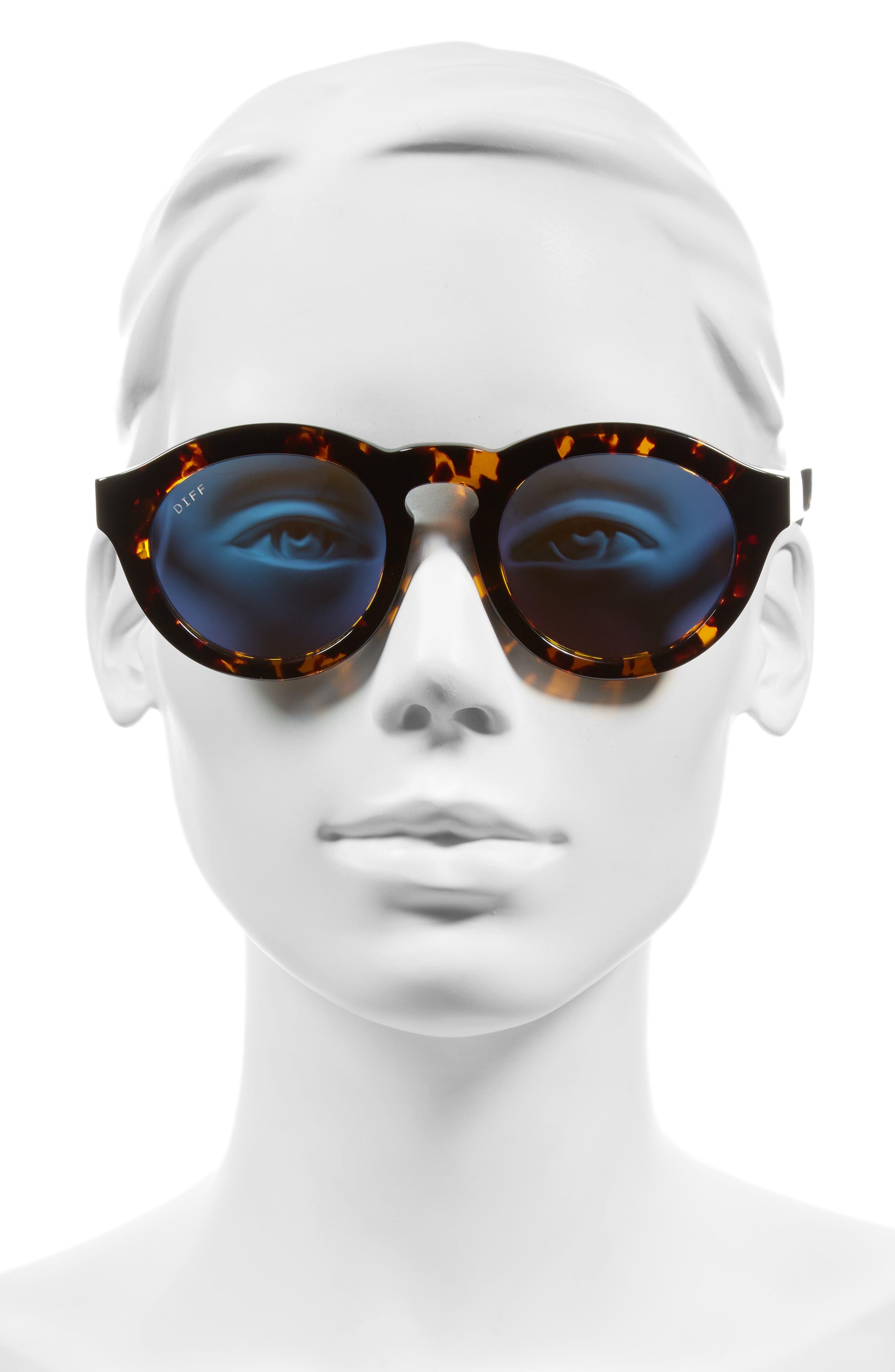 Dime 48mm Retro Sunglasses,                             Alternate thumbnail 16, color,