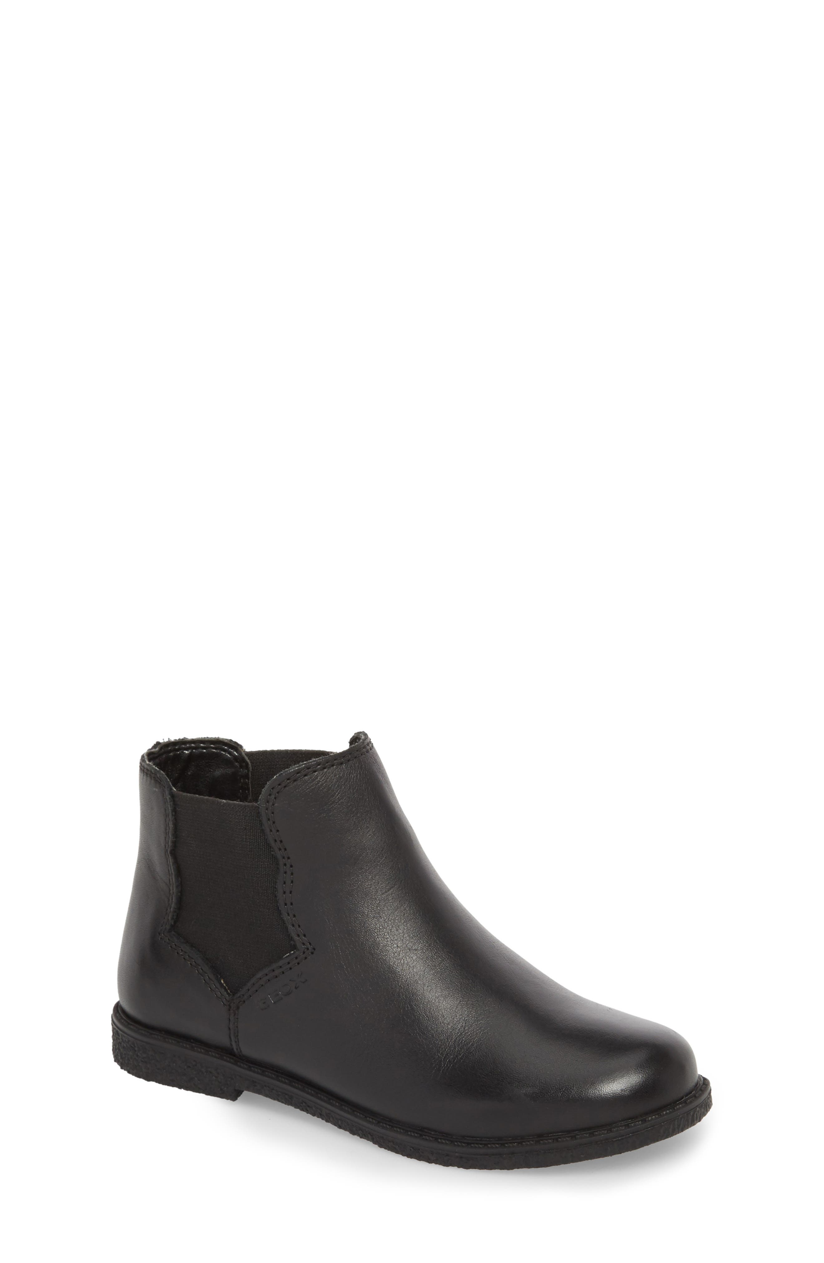 Shawntel Chelsea Boot,                         Main,                         color, BLACK