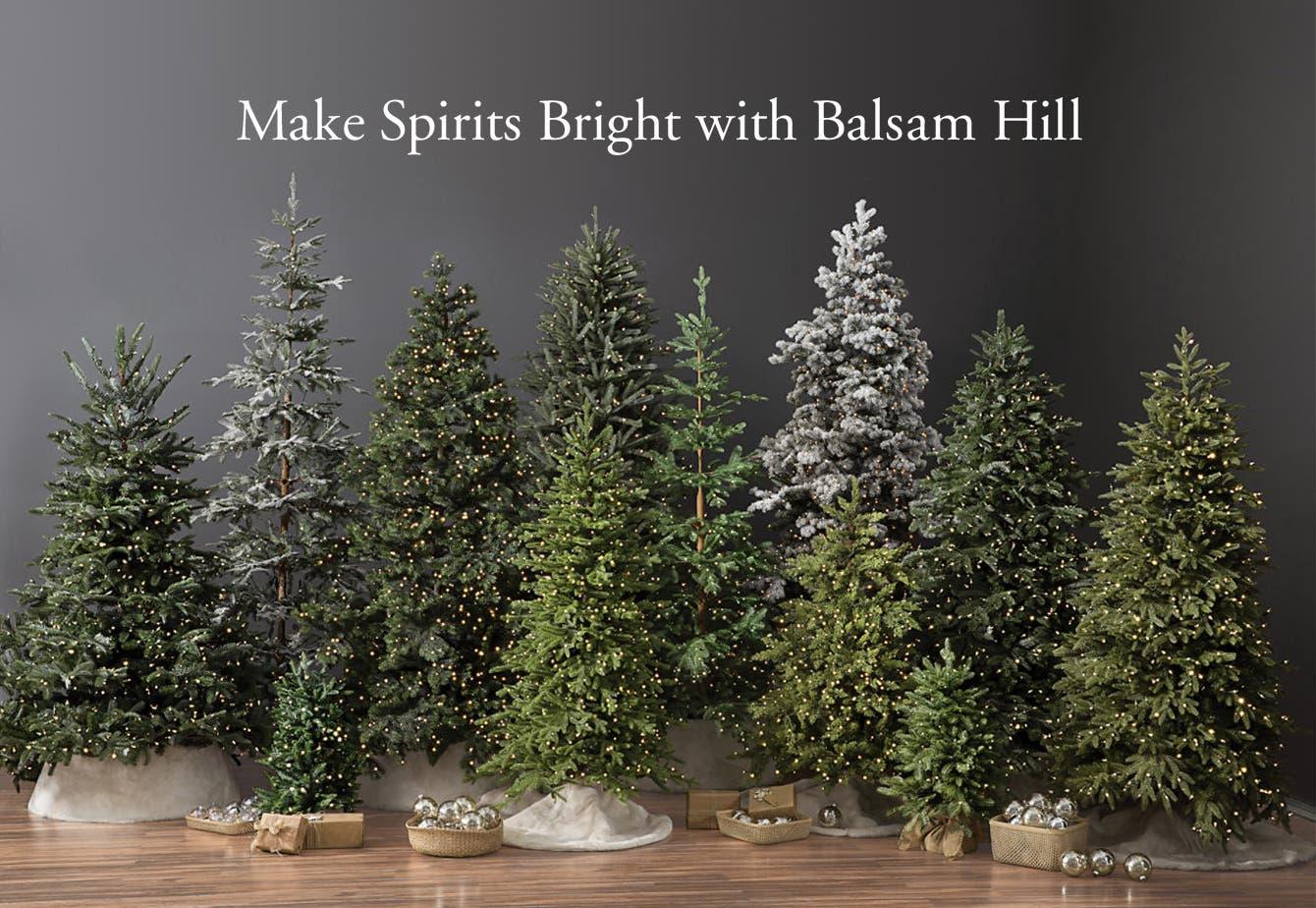 Make Spirits Bright with Balsam Hill