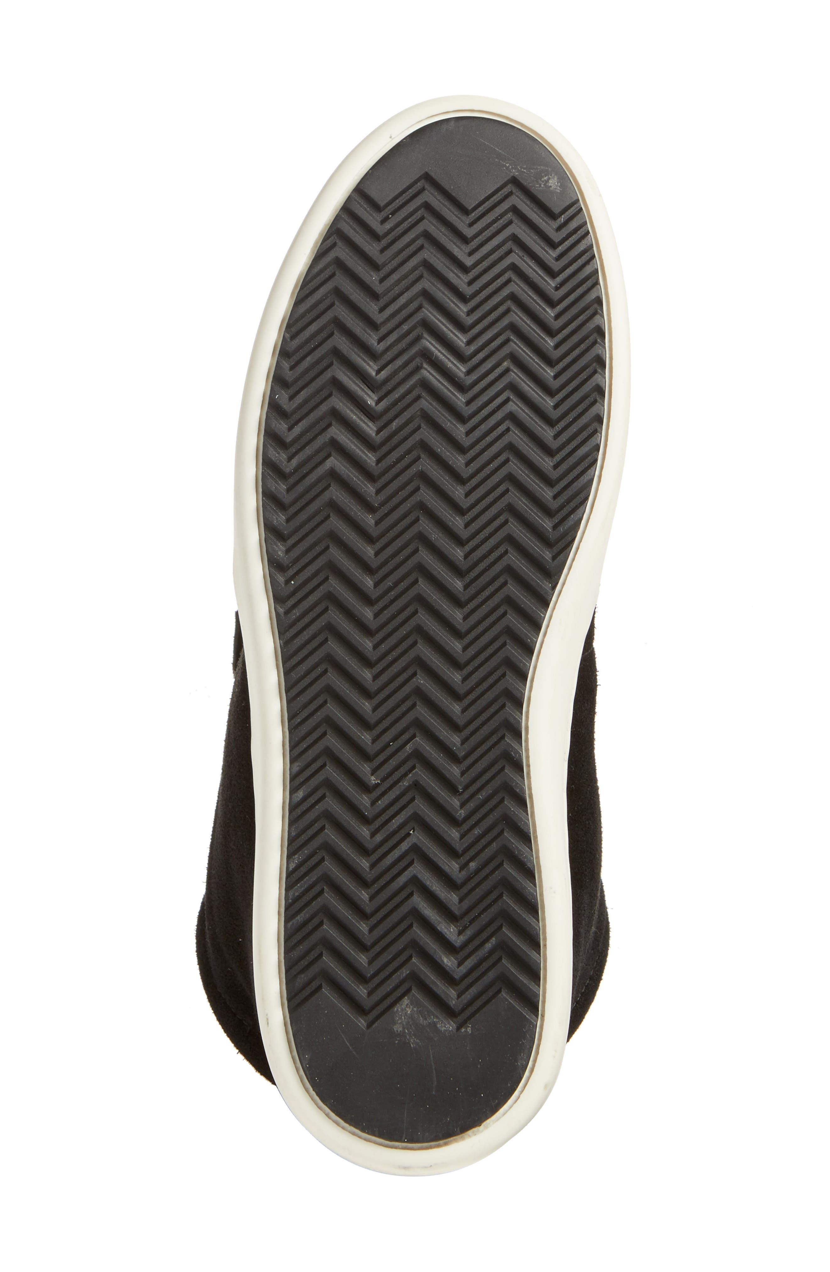 Kent Genuine Shearling Lined Sneaker,                             Alternate thumbnail 6, color,                             008
