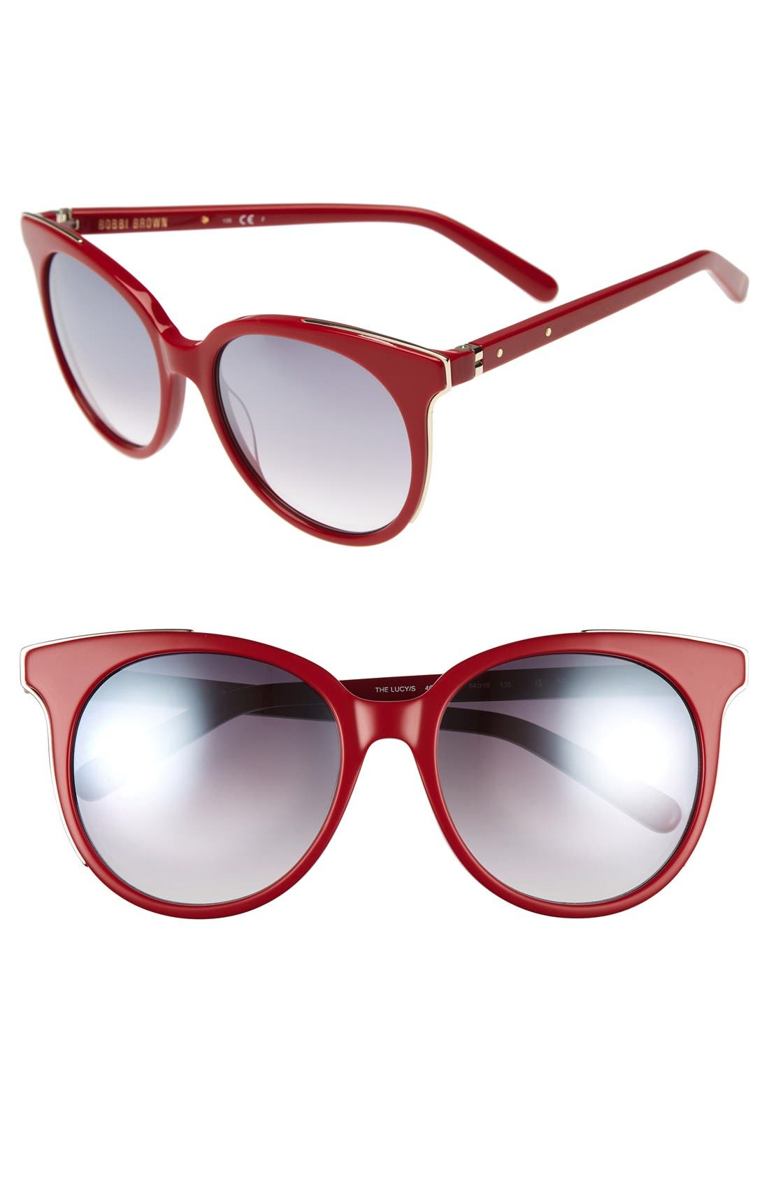 'The Lucy' 54mm Sunglasses,                             Main thumbnail 4, color,
