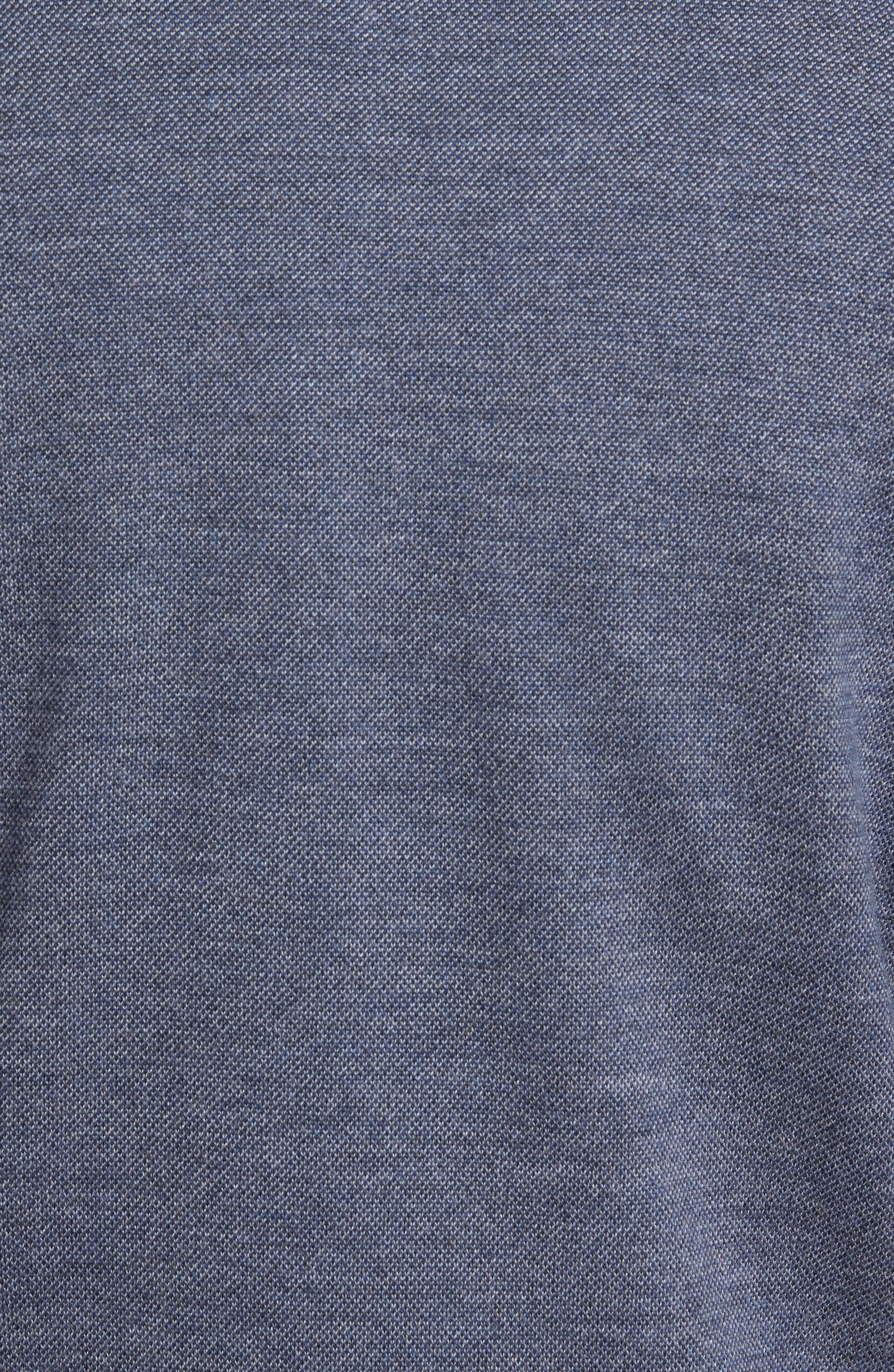 Quarter Zip Wool Pullover,                             Alternate thumbnail 5, color,                             415