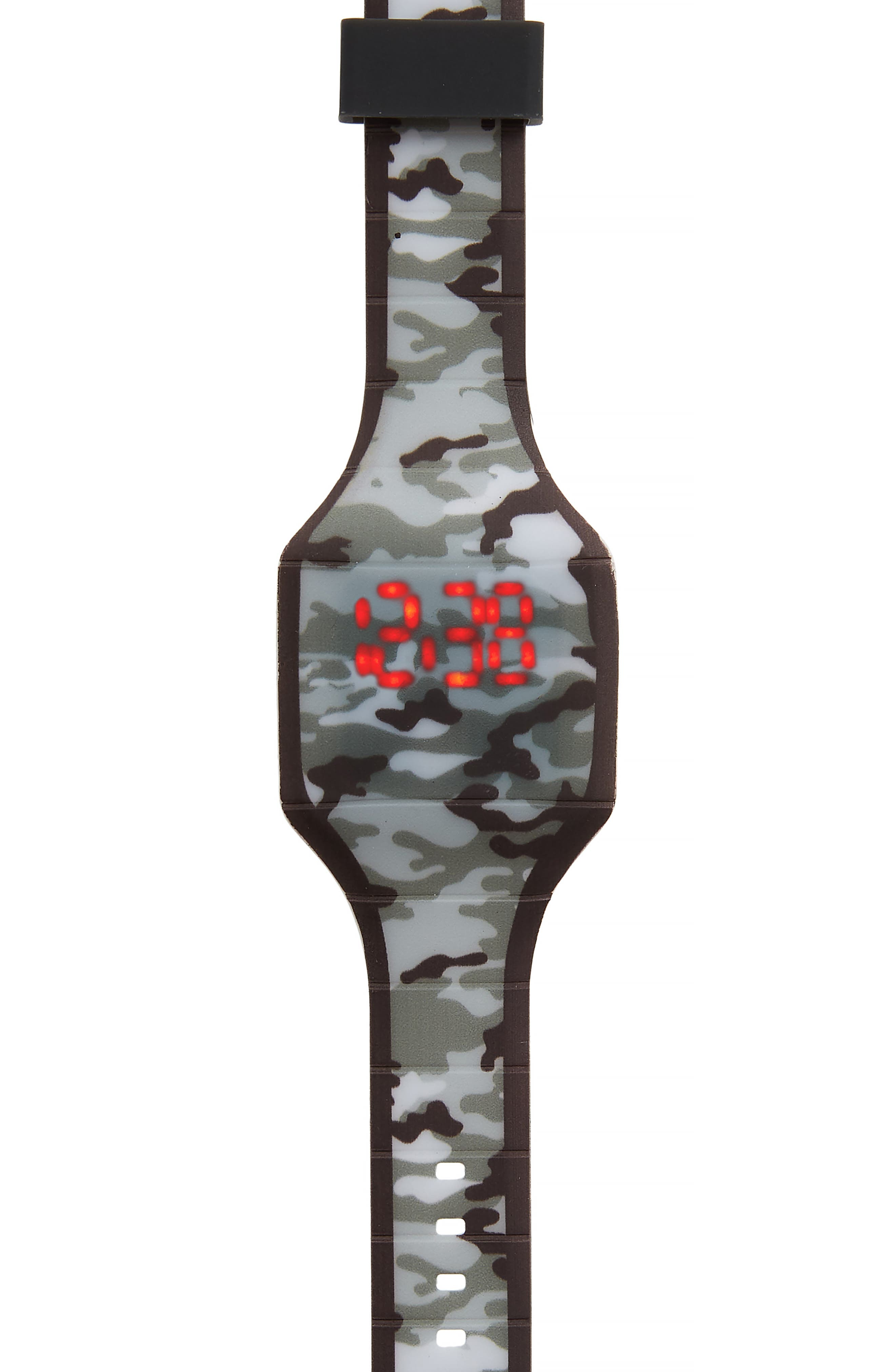 Boys Accutime Camo Led Watch