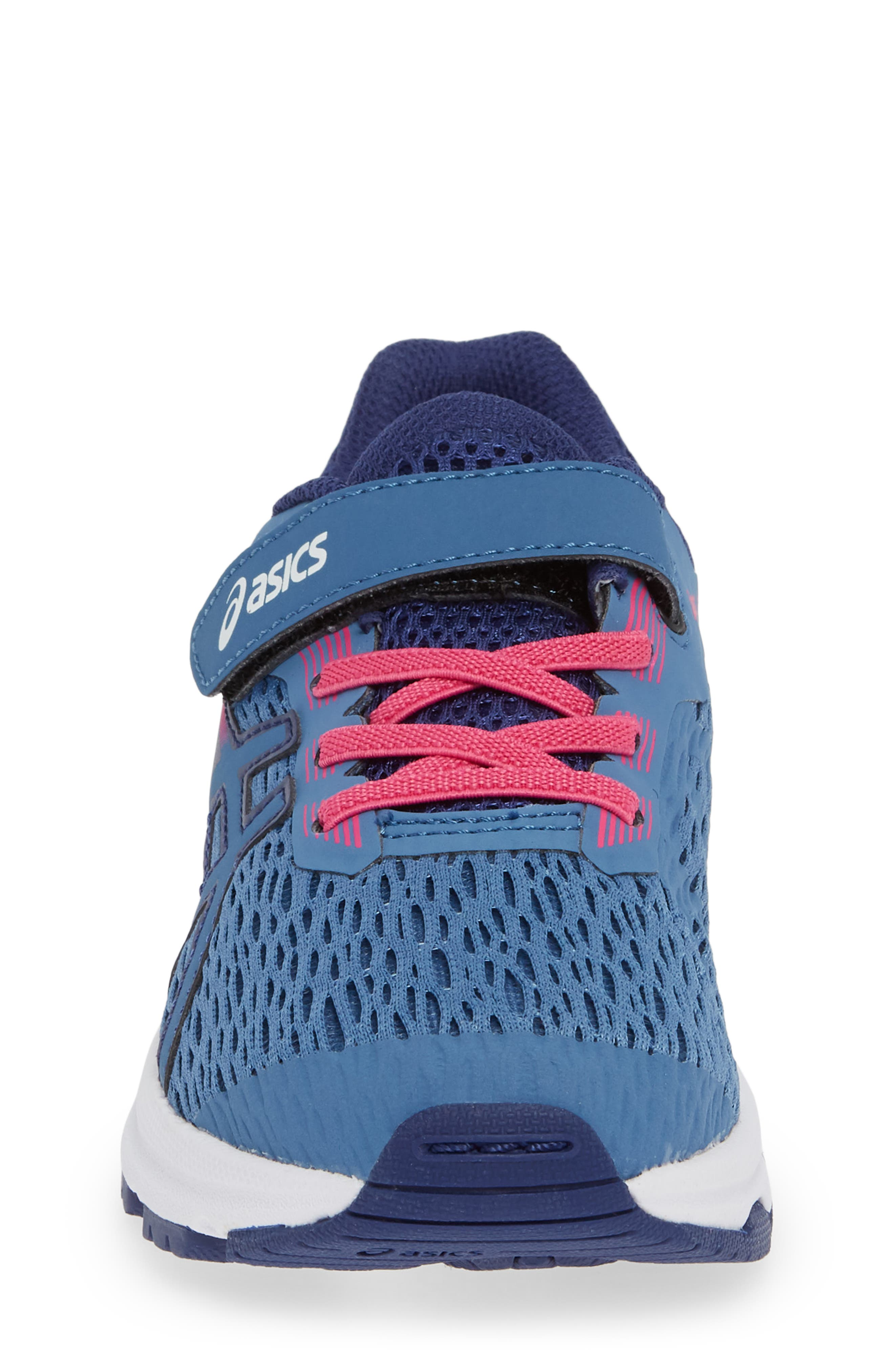 GT 1000 7 Running Shoe,                             Alternate thumbnail 4, color,                             AZURE/ FUCHSIA PURPLE