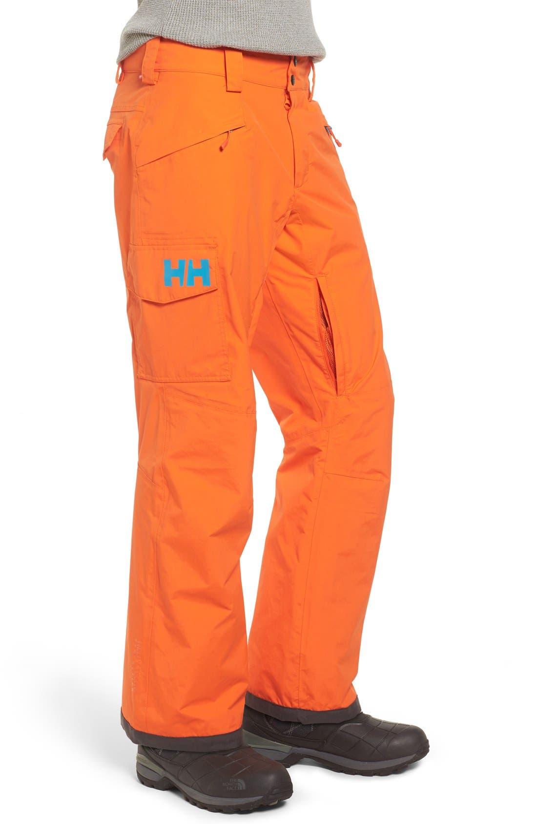 'Sogn' Waterproof PrimaLoft<sup>®</sup> Cargo Snow Pants,                             Alternate thumbnail 20, color,