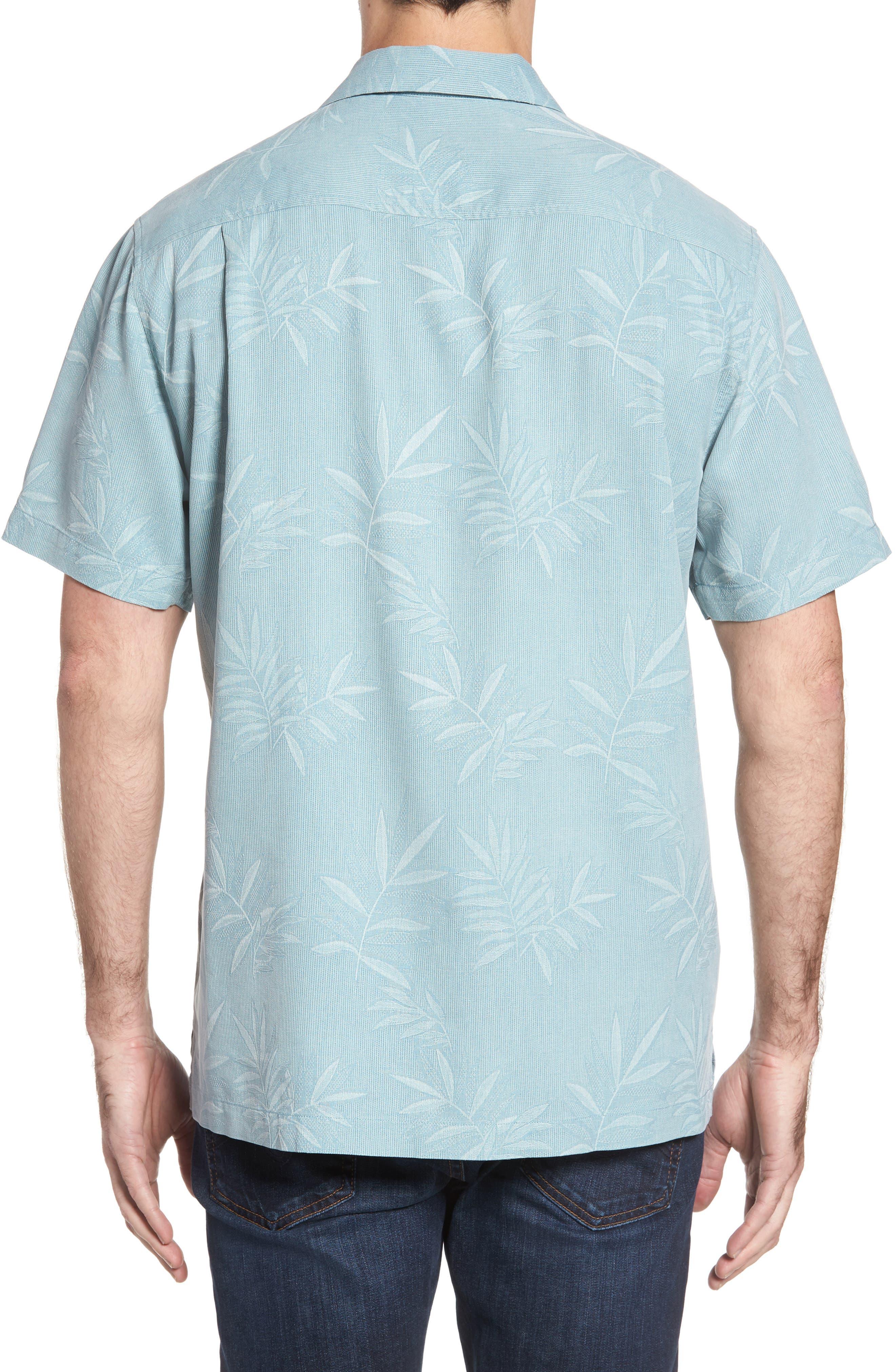 Luau Floral Silk Shirt,                             Alternate thumbnail 2, color,                             301