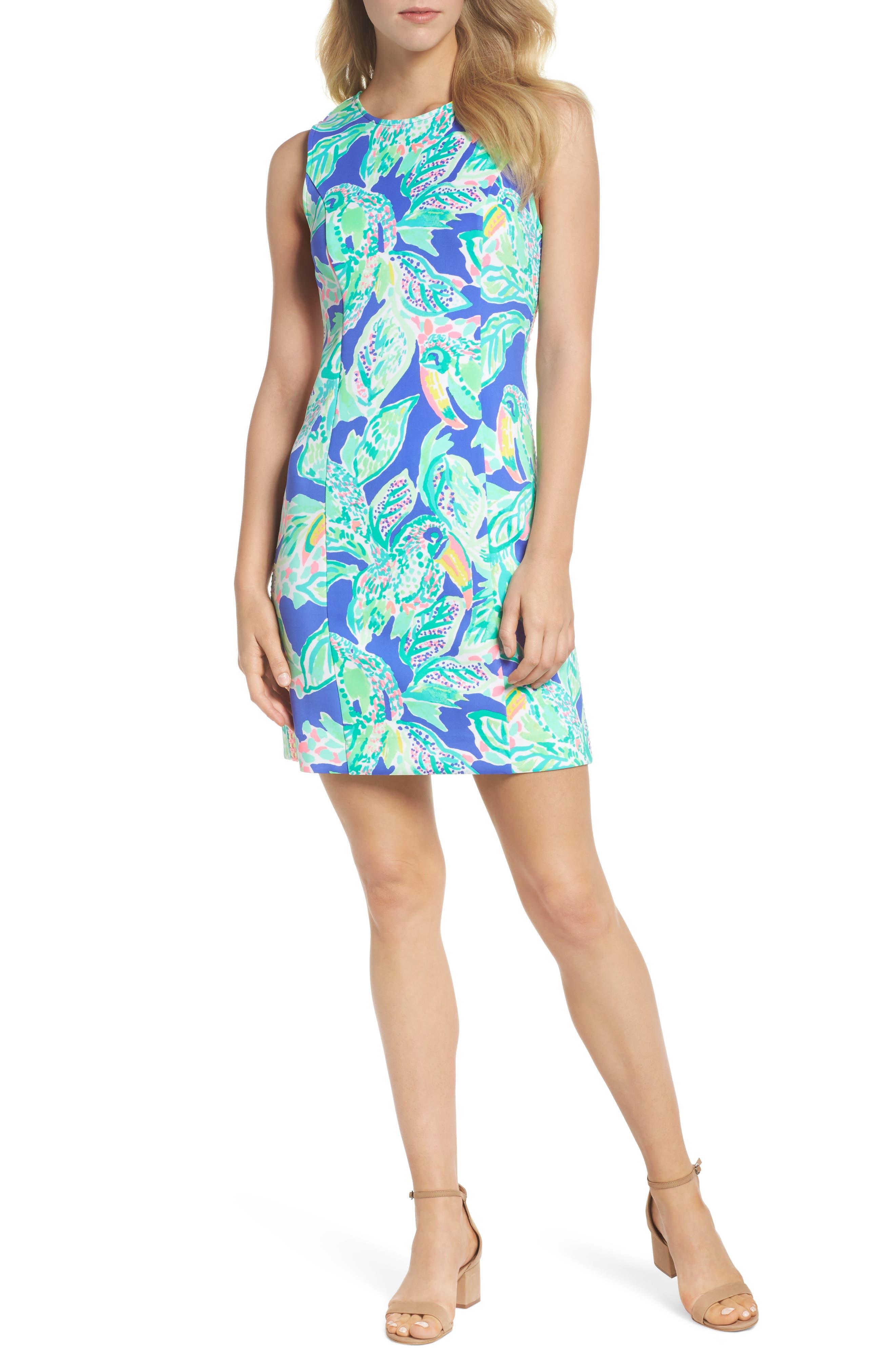 Mila Sheath Dress,                             Alternate thumbnail 5, color,                             400