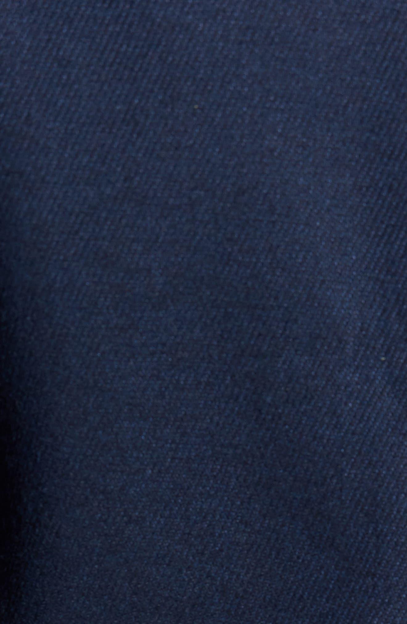 Hines Trim Fit Linen Blend Blazer,                             Alternate thumbnail 6, color,                             410