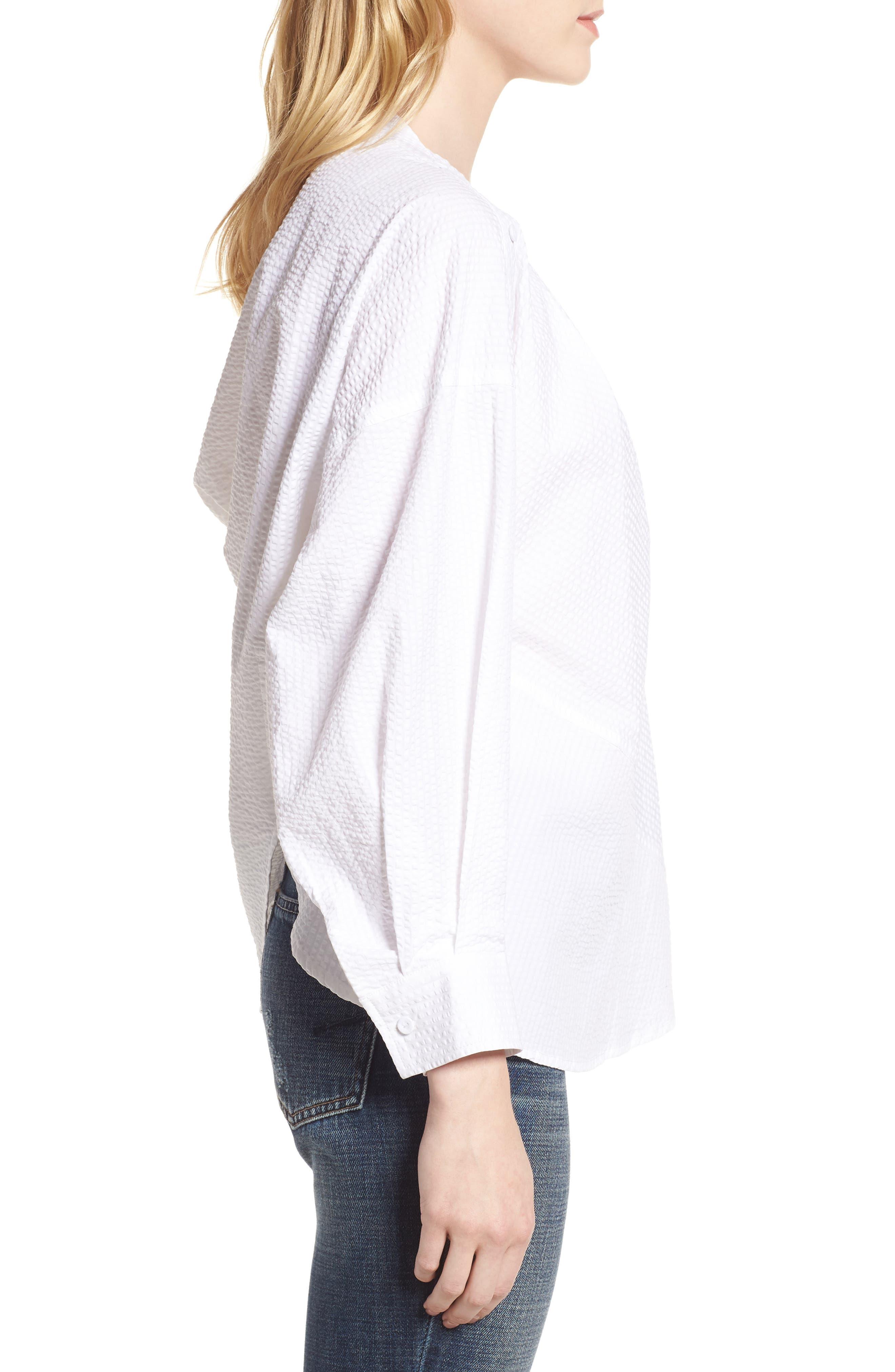 Daphne One Shoulder Cotton Top,                             Alternate thumbnail 4, color,                             150