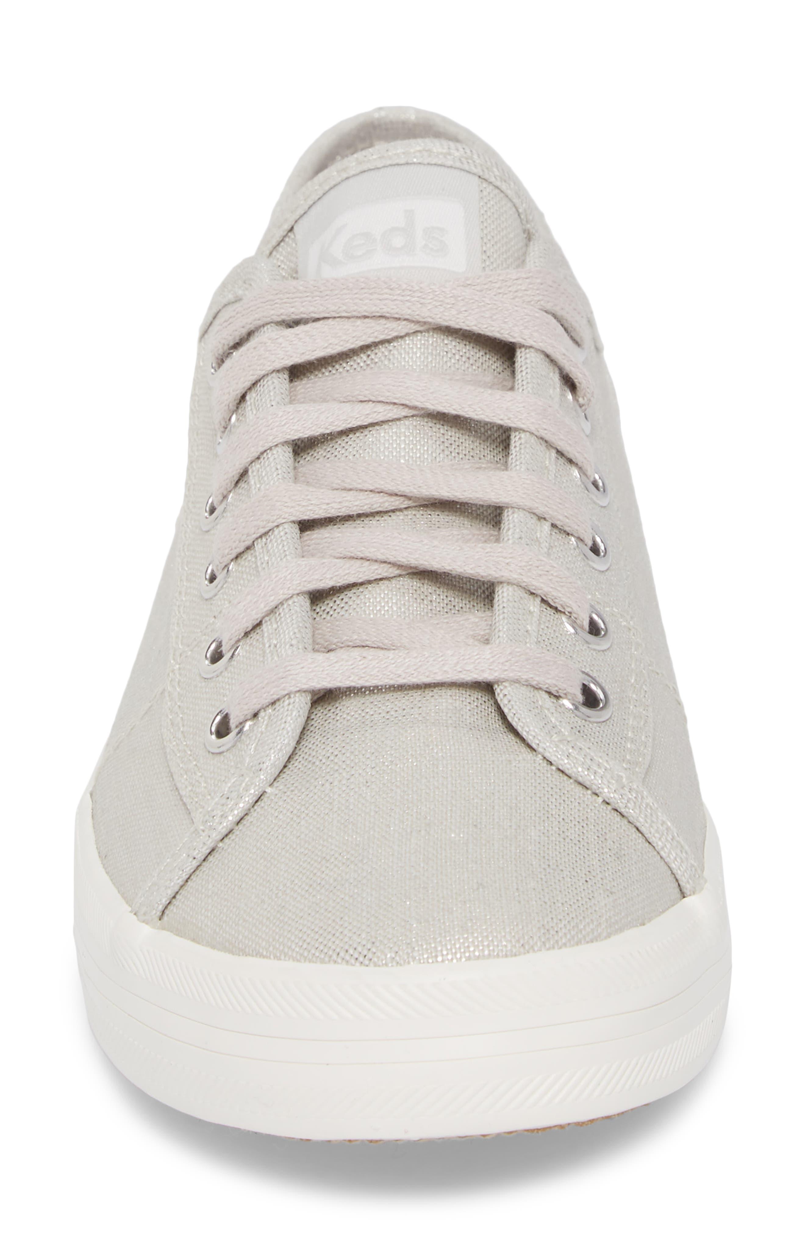 Kickstart Metallic Sneaker,                             Alternate thumbnail 4, color,                             040
