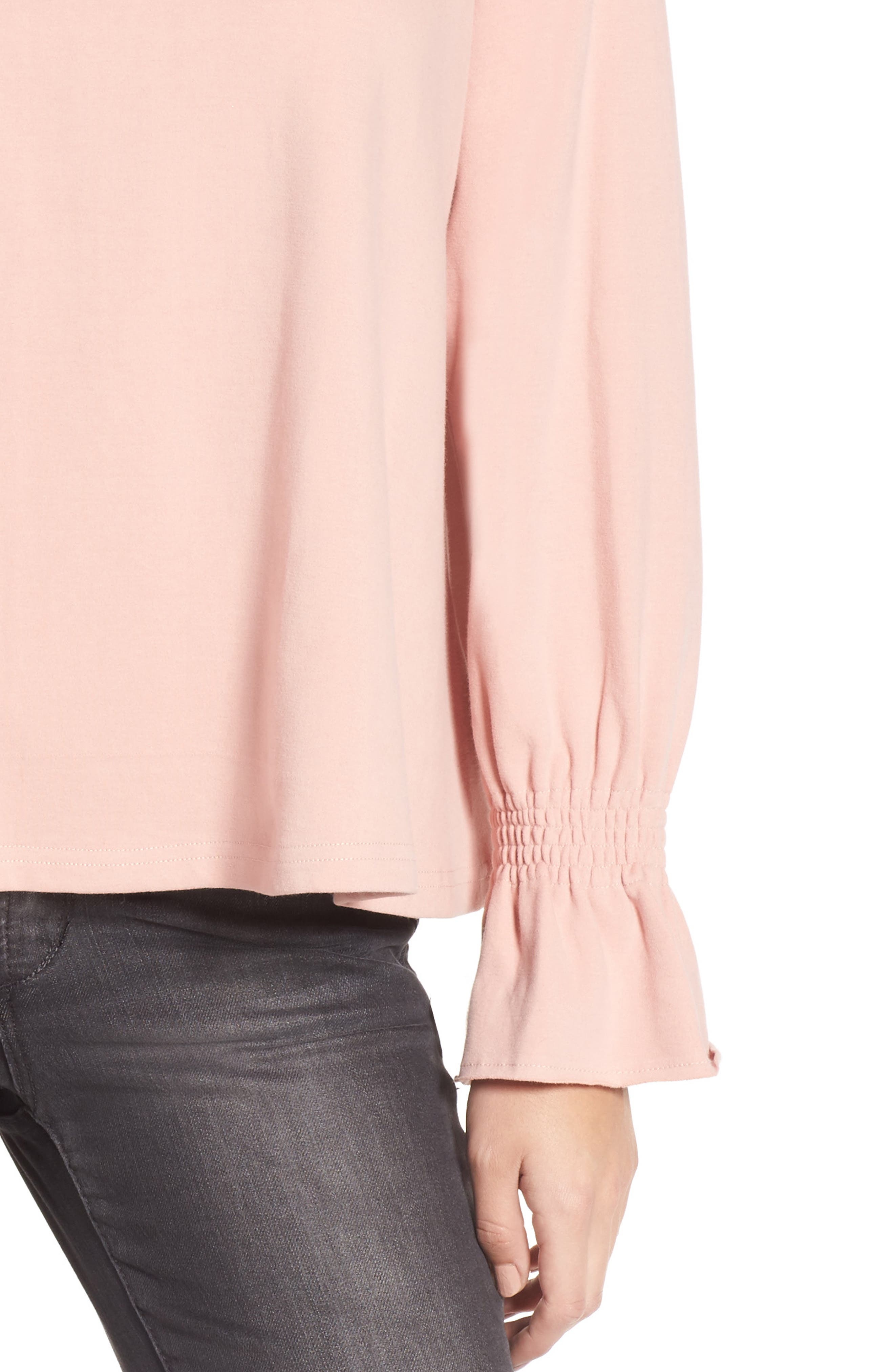 Cinch Cuff Pullover,                             Alternate thumbnail 4, color,                             680