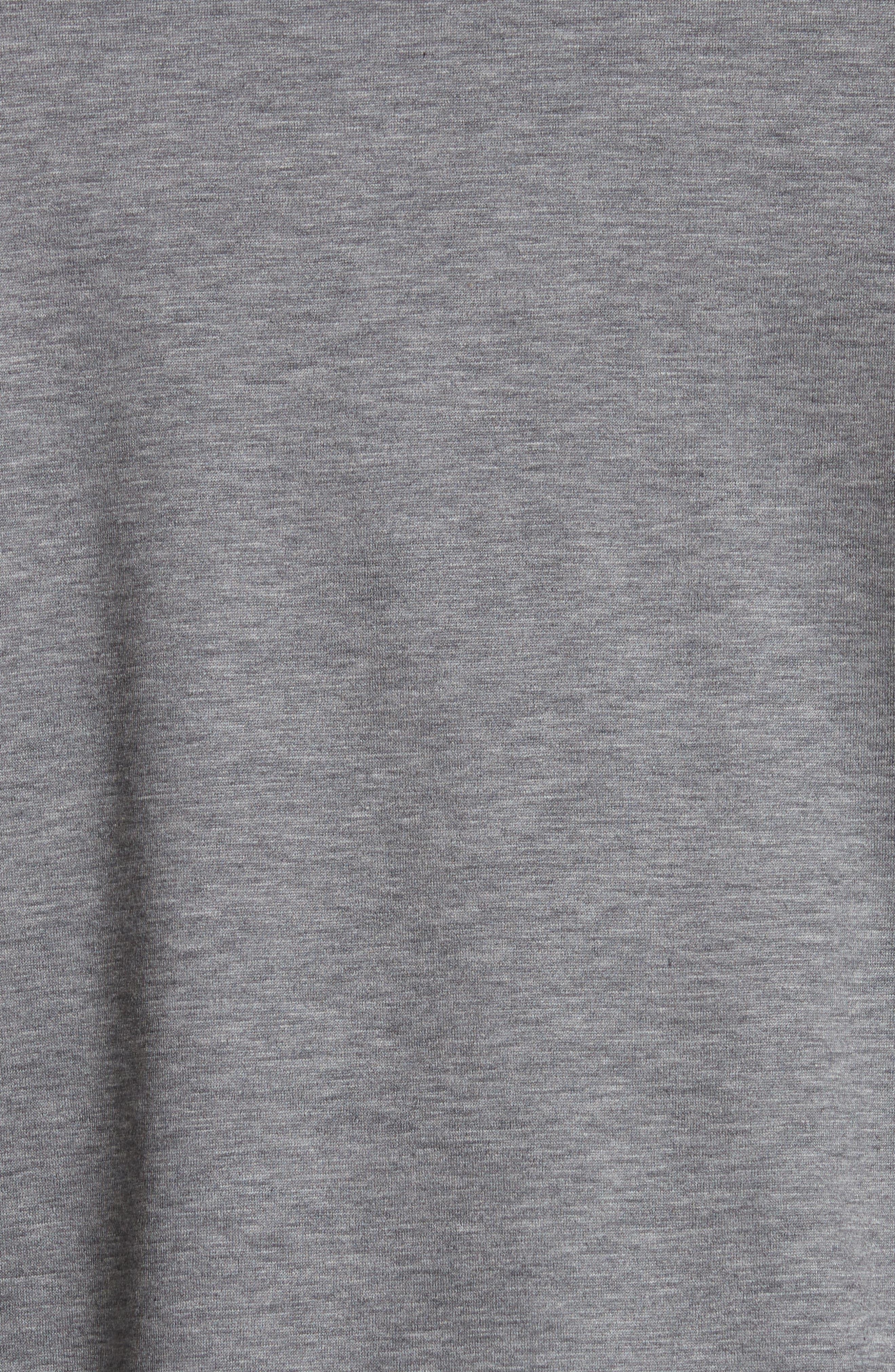 Cotton Quarter Zip Polo Shirt,                             Alternate thumbnail 5, color,                             020