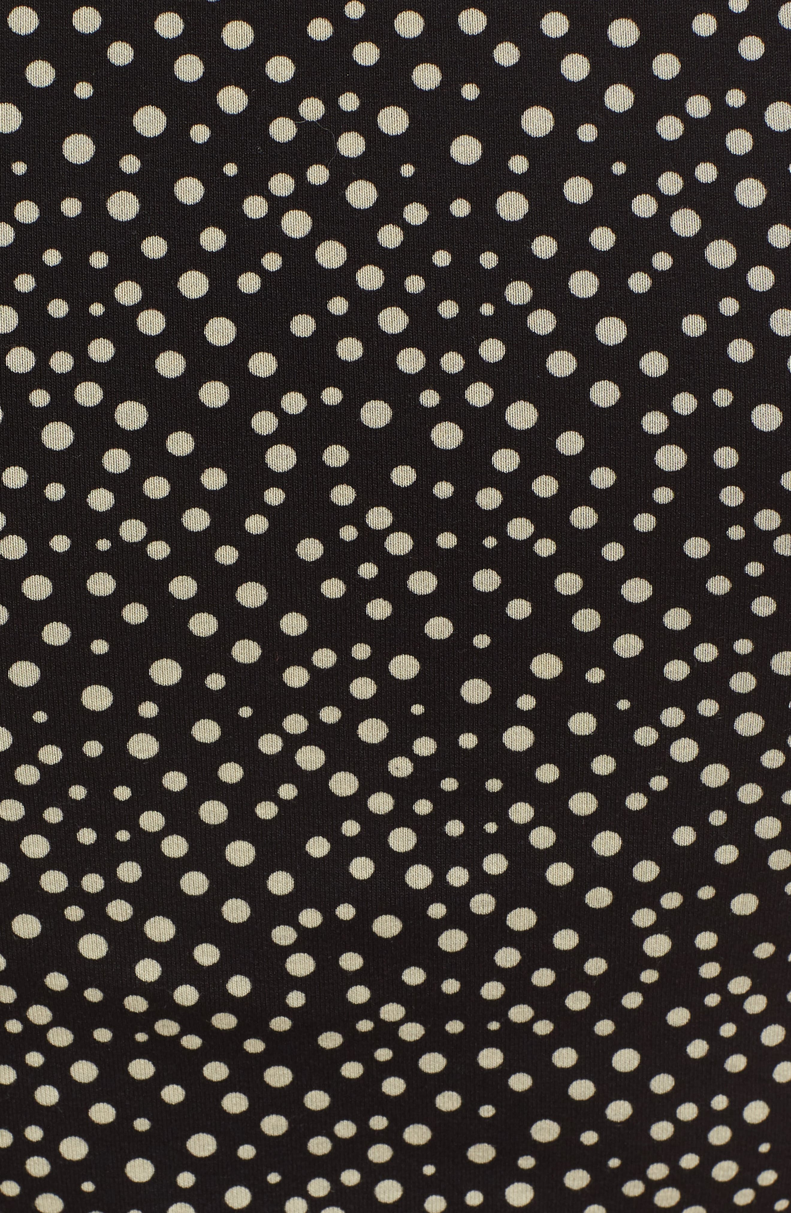 Danni Ruched Maternity Dress,                             Alternate thumbnail 5, color,                             POLKA PRINT