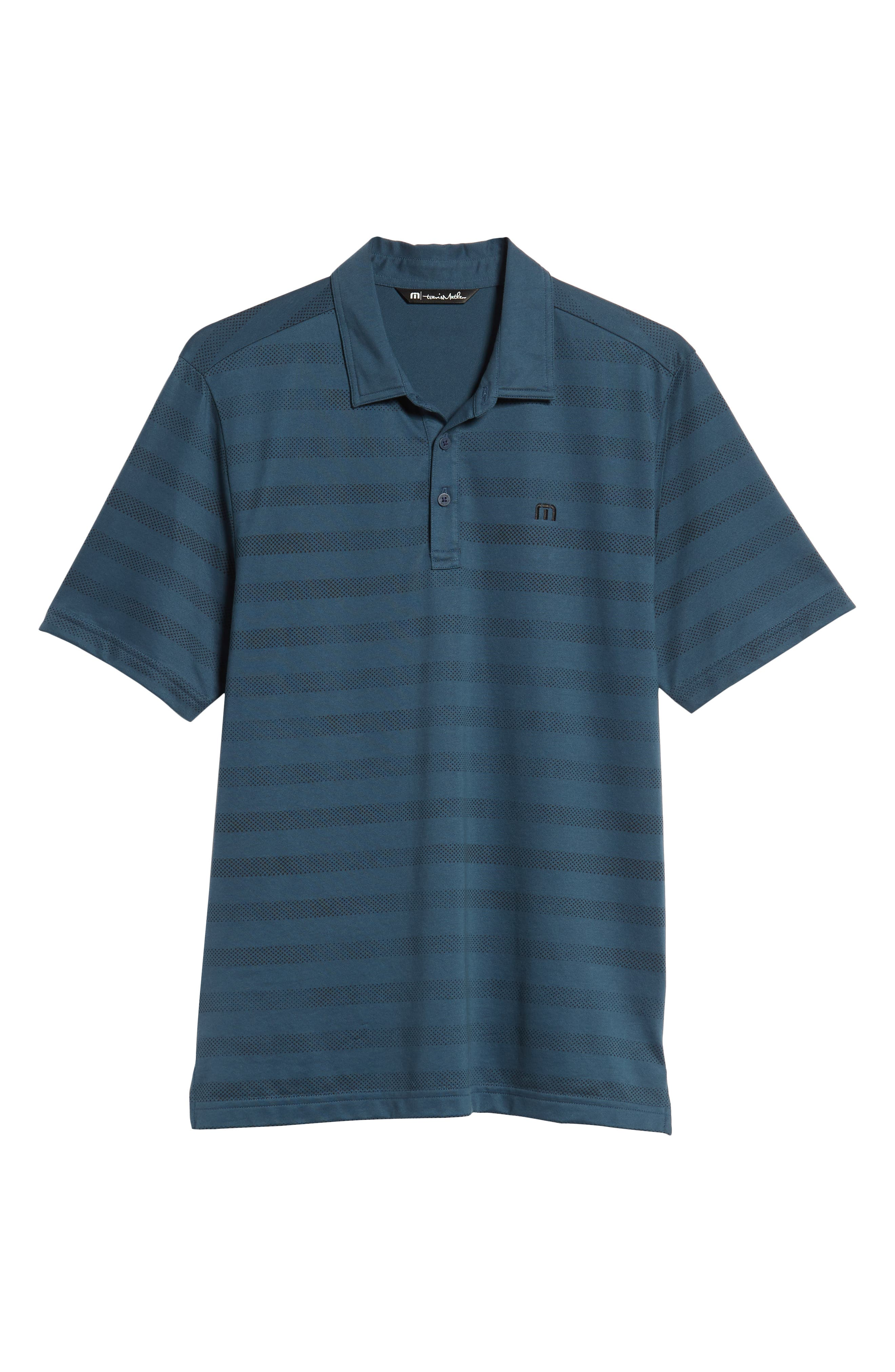Dolphinantly Regular Fit Polo,                             Alternate thumbnail 6, color,                             BLUE WING TEAL