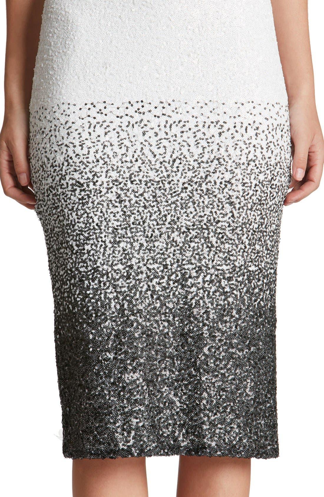 Shawn Sequin Midi Dress,                             Alternate thumbnail 5, color,                             121