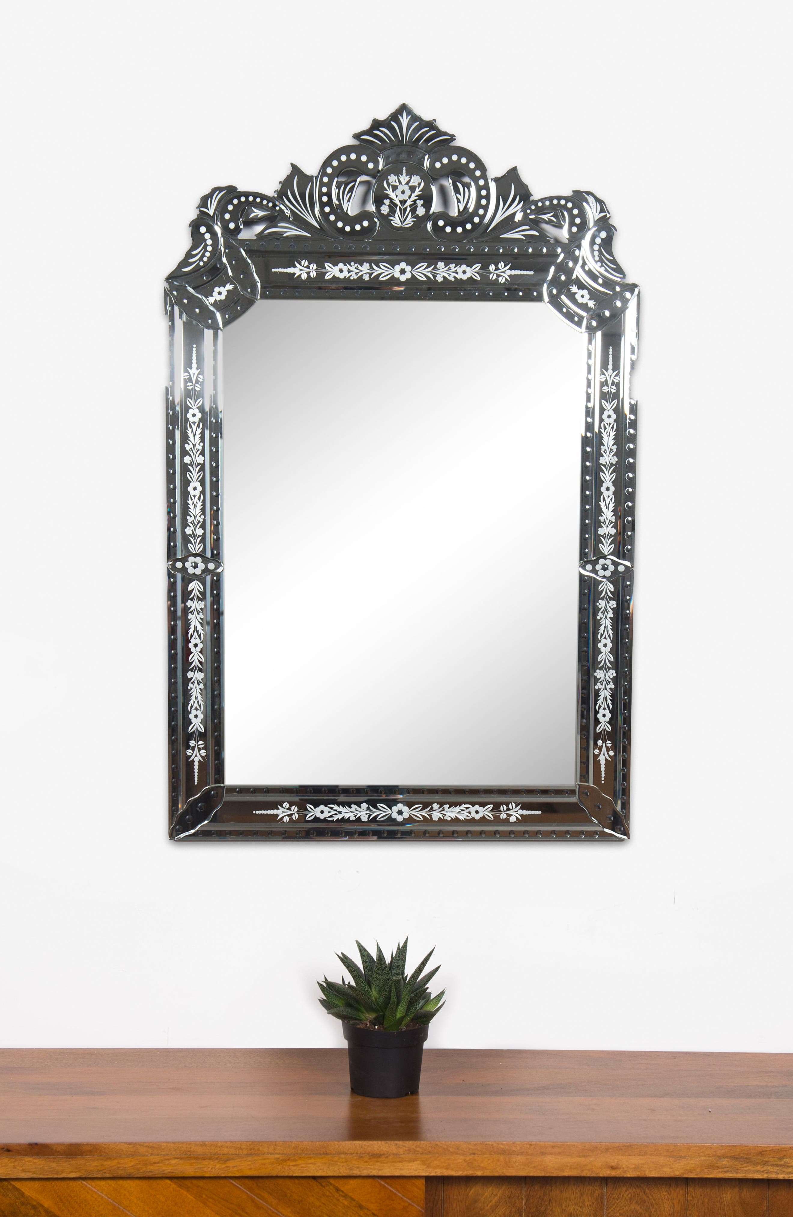 Mansard Mirror,                             Alternate thumbnail 3, color,                             040