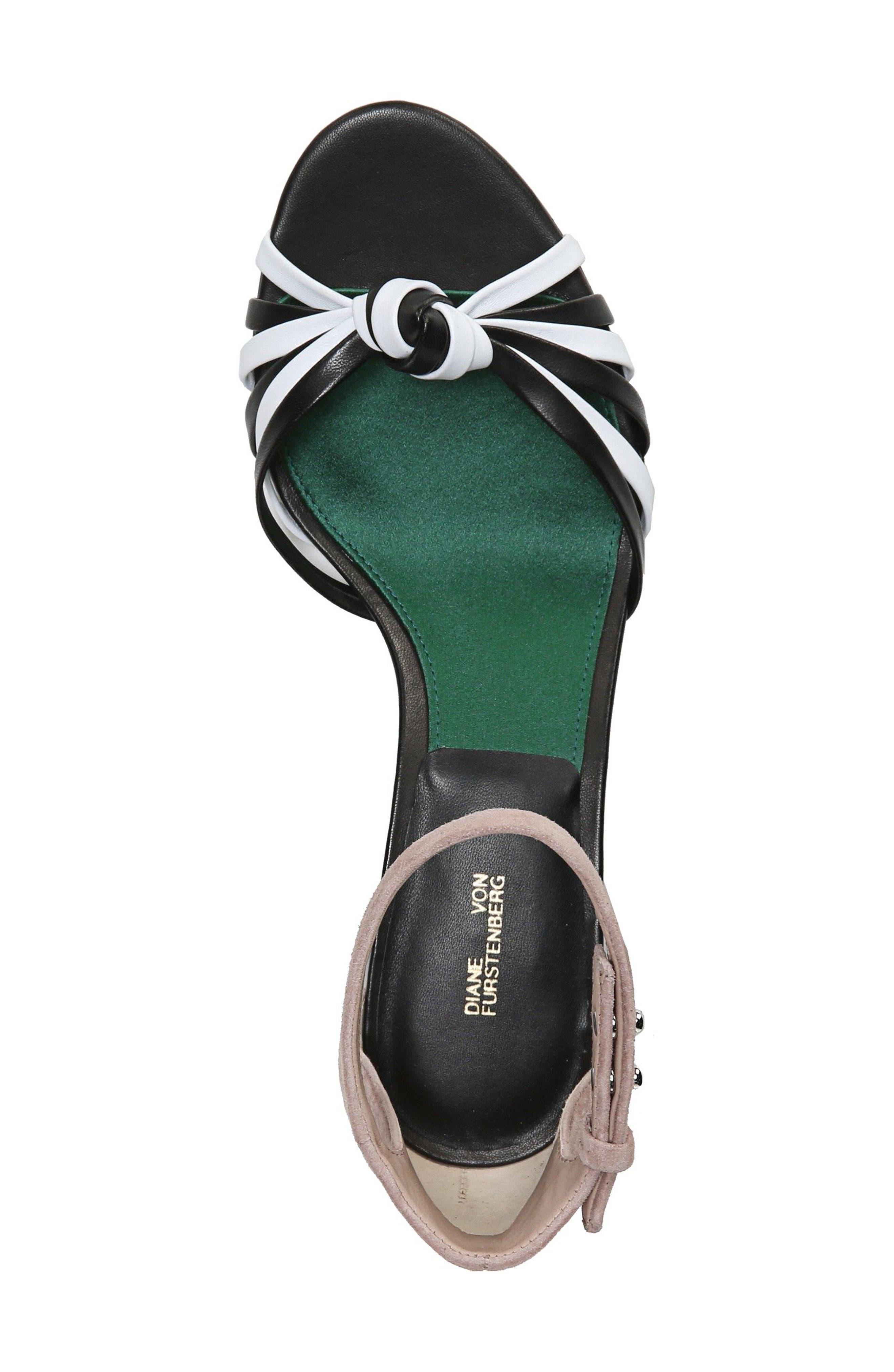 Fonseca Ankle Strap Sandal,                             Alternate thumbnail 5, color,                             001