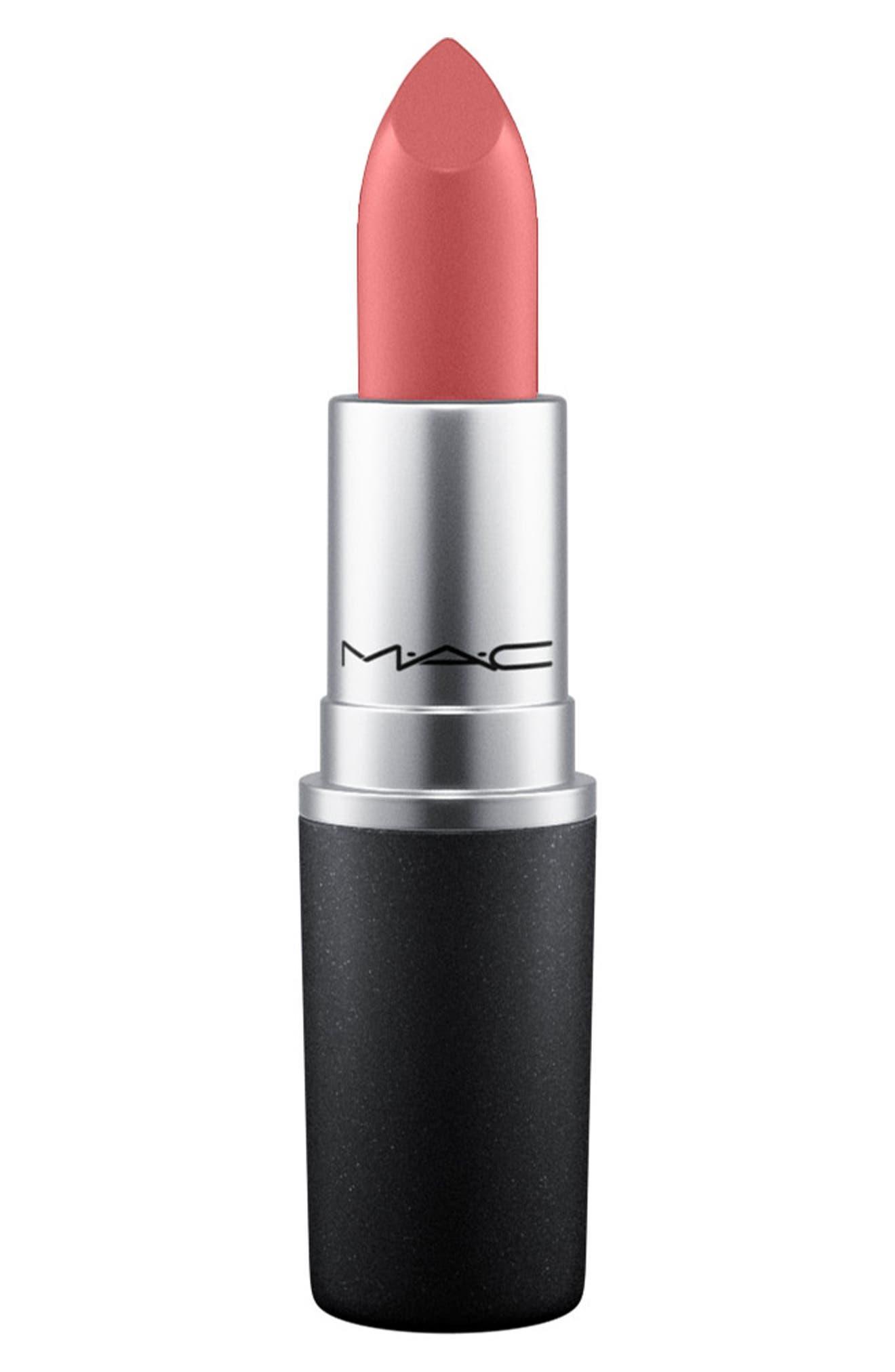 MAC Glitter Tripper Lipstick,                             Main thumbnail 1, color,                             COCO-DEL-RIO