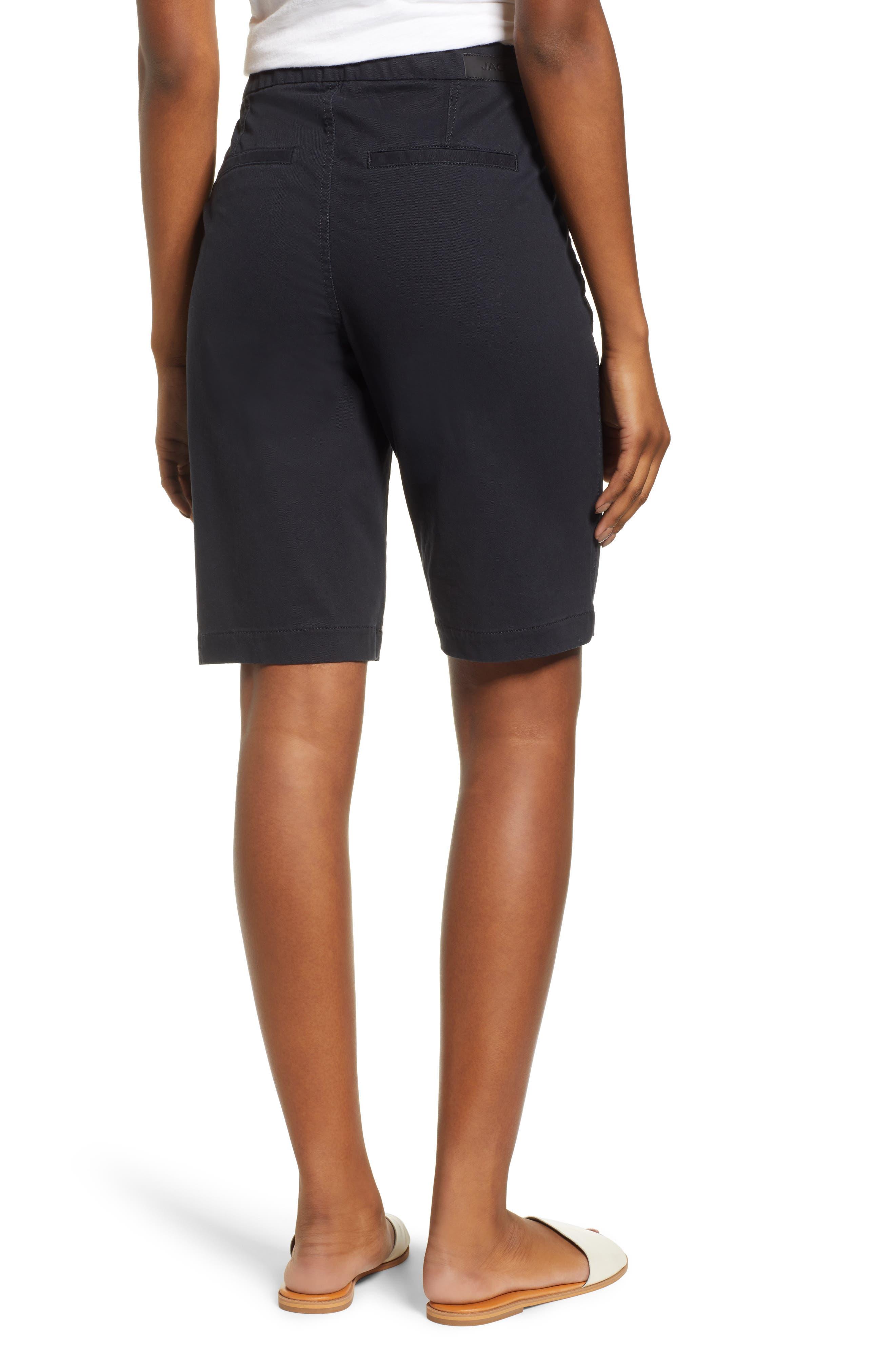 Gracie Bermuda Shorts,                             Alternate thumbnail 2, color,                             BLACK