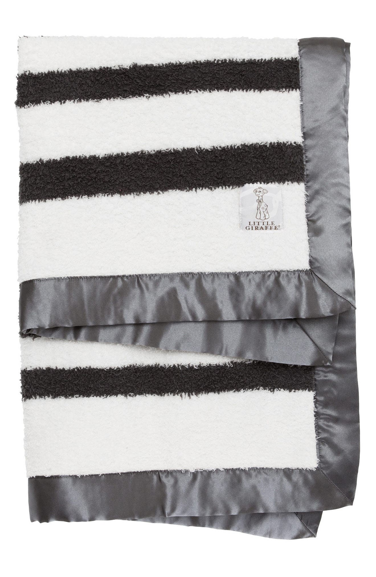 Stripe Chenille Blanket,                         Main,                         color, 020