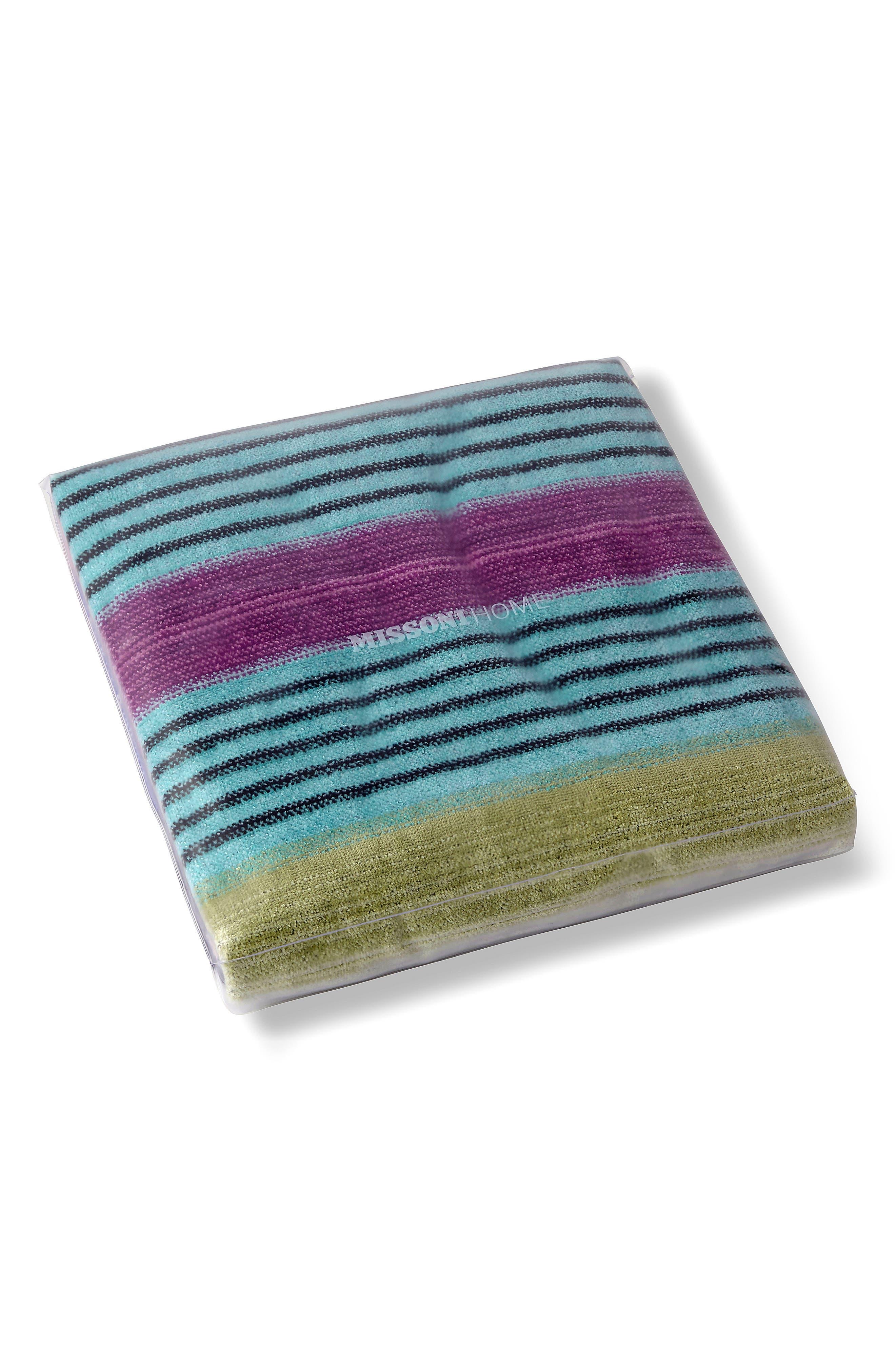 Viviette Beach Towel,                             Alternate thumbnail 3, color,                             MULTI