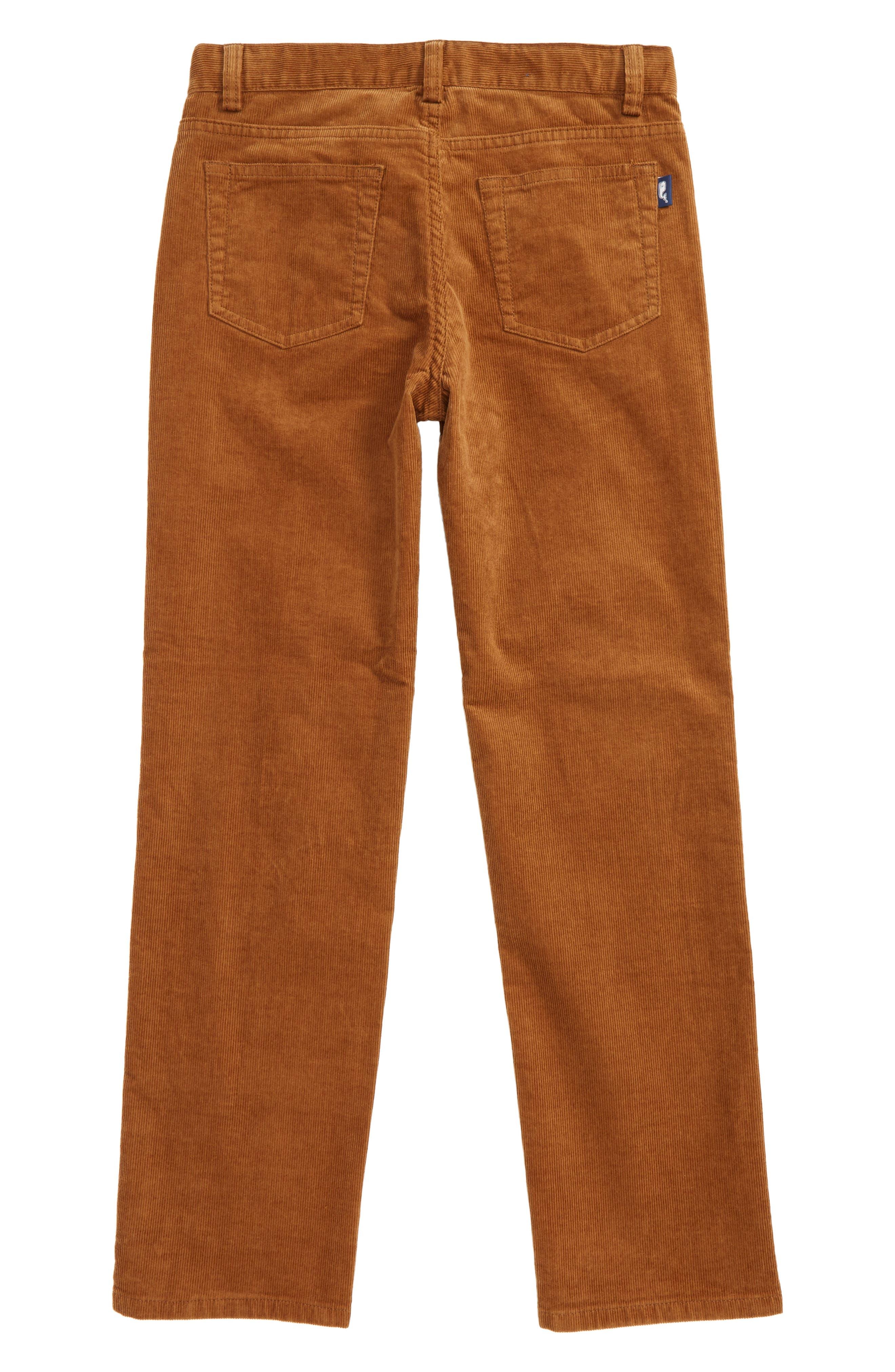 Straight Leg Corduroy Pants,                             Alternate thumbnail 6, color,
