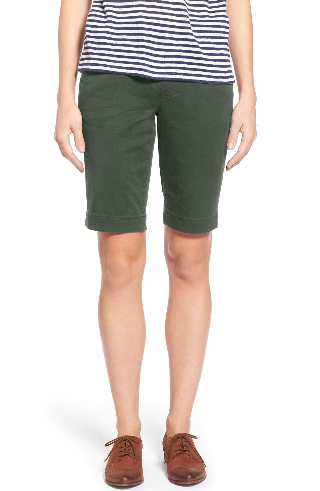'Ainsley' Slim Bermuda Shorts,                             Main thumbnail 7, color,