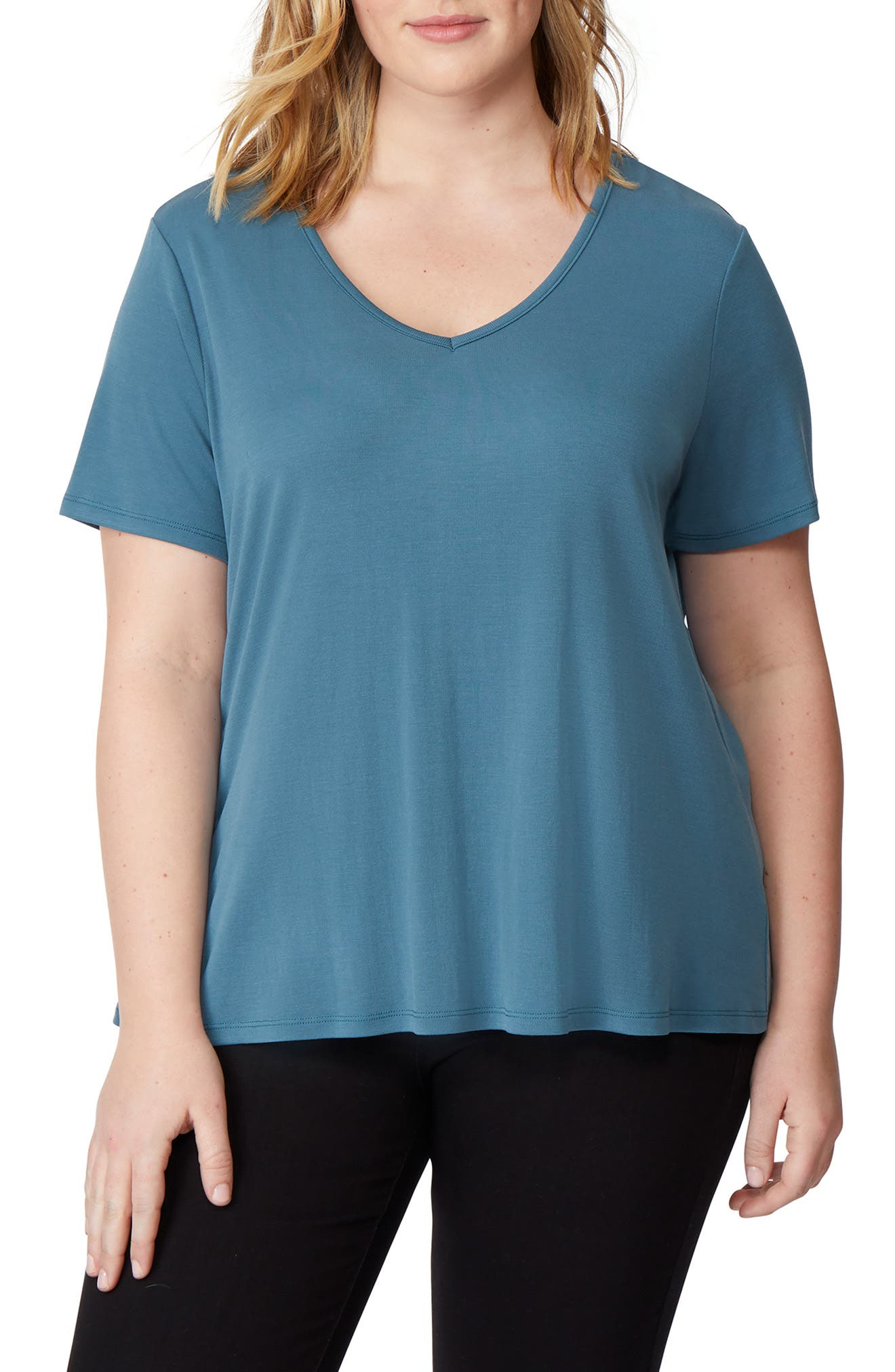 Tulip Back Tee,                         Main,                         color, TAPESTRY