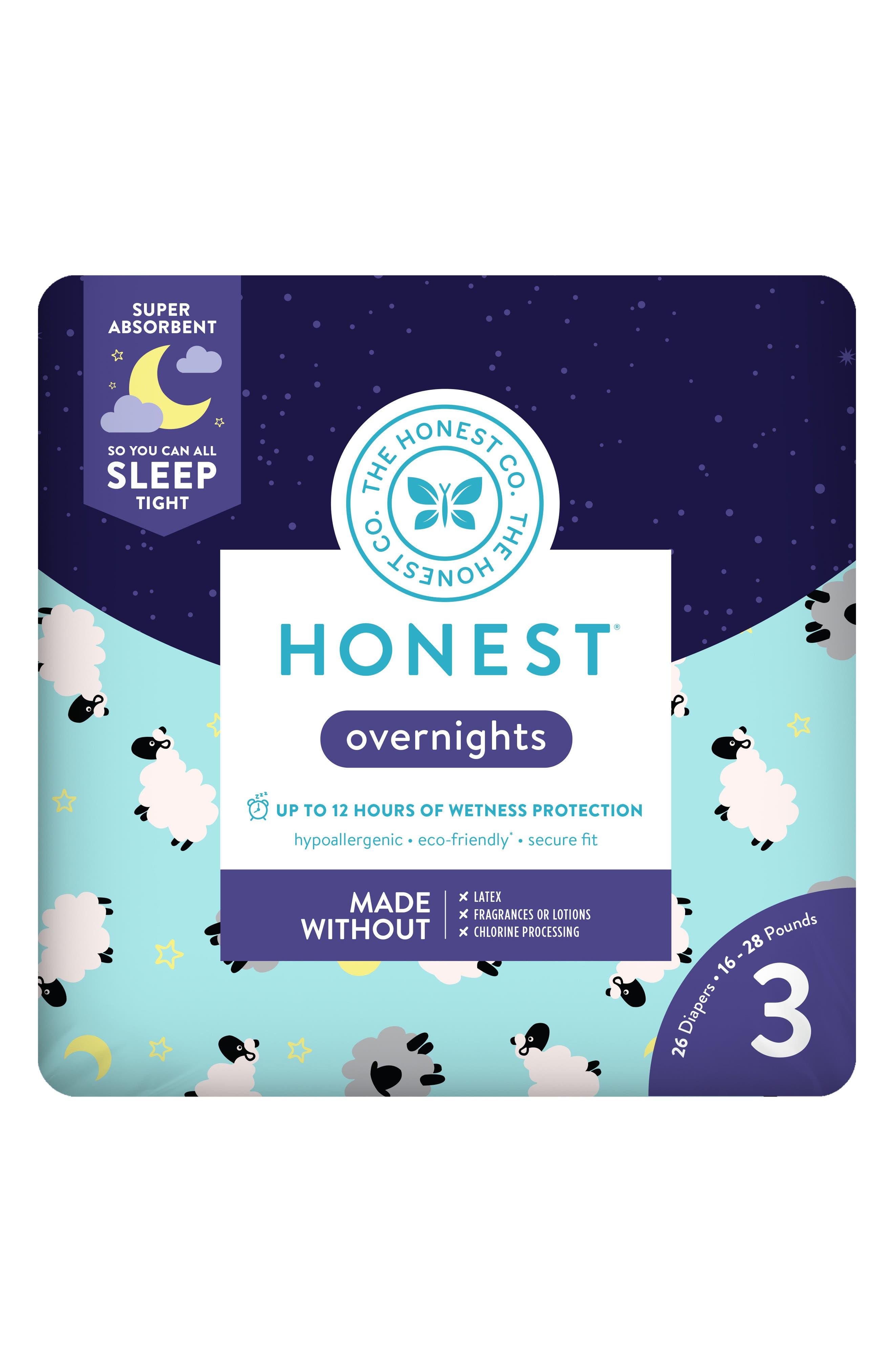 Sleepy Sheep Overnight Diapers,                             Alternate thumbnail 3, color,                             SLEEPY SHEEP